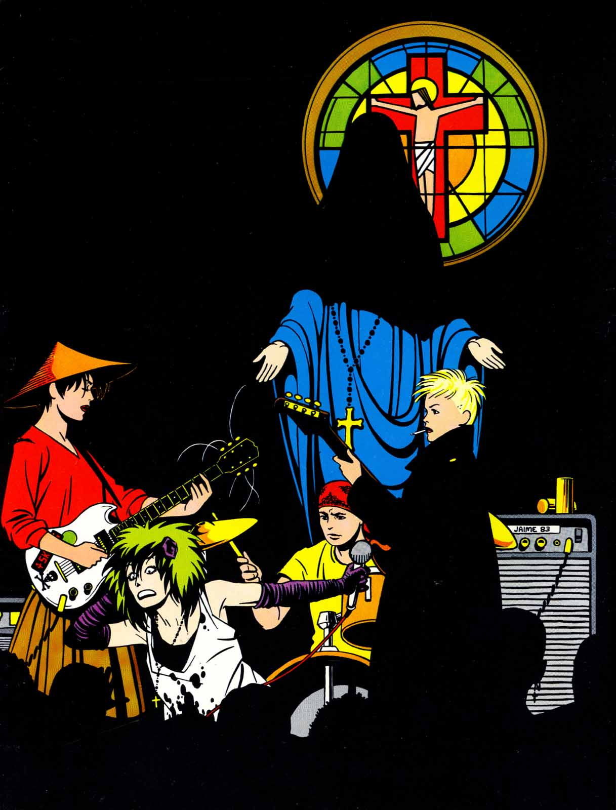 Love and Rockets (1982) Issue #6 #5 - English 36