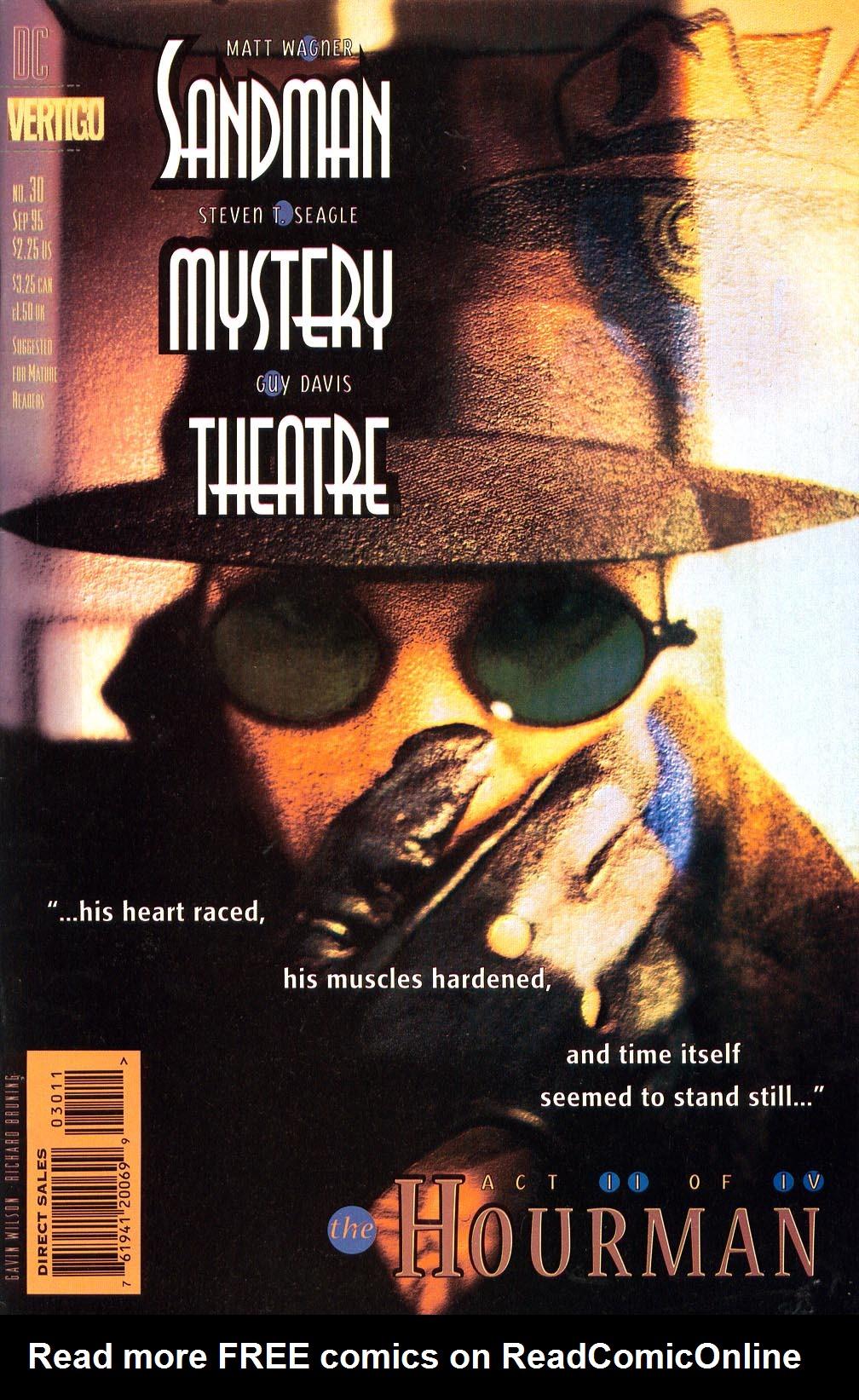 Sandman Mystery Theatre 30 Page 1