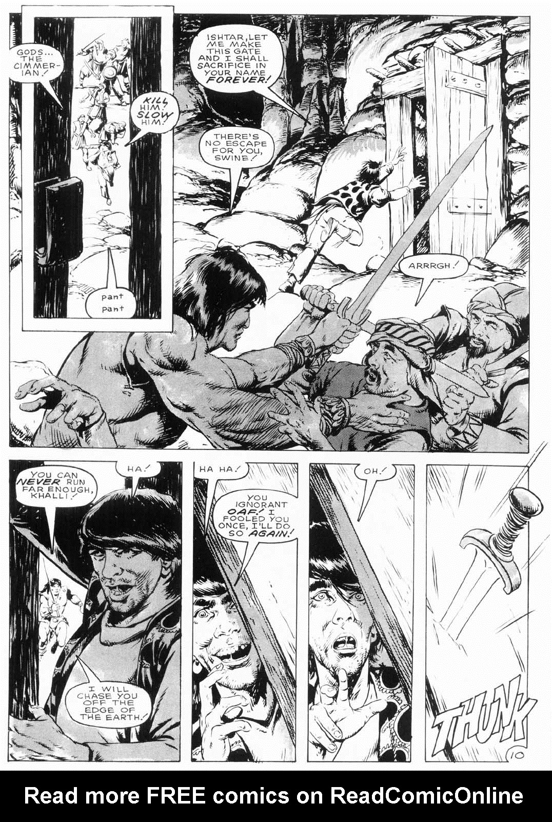 The Savage Sword Of Conan Issue #154 #155 - English 13