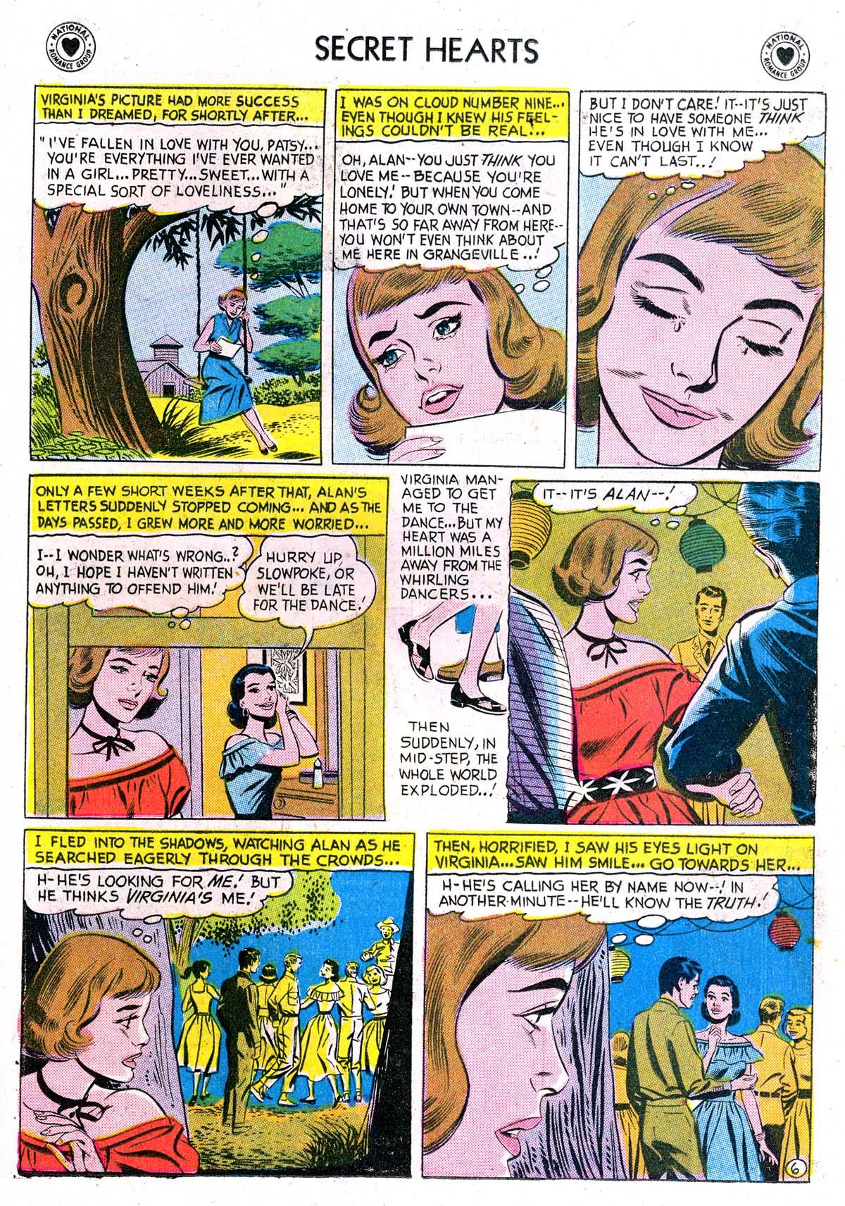 Read online Secret Hearts comic -  Issue #42 - 15