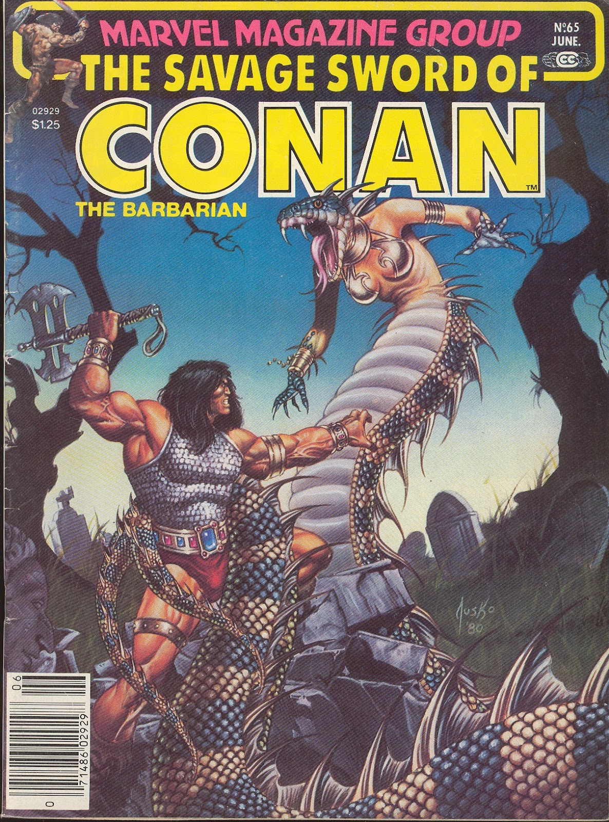 The Savage Sword Of Conan Issue #65 #66 - English 1