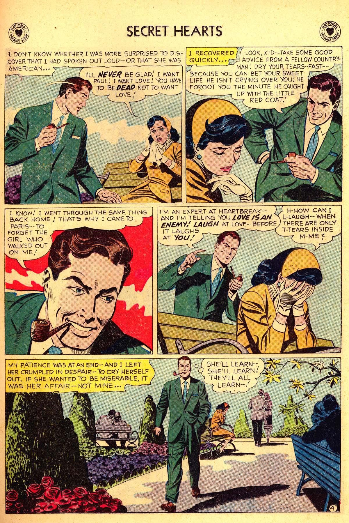Read online Secret Hearts comic -  Issue #54 - 29