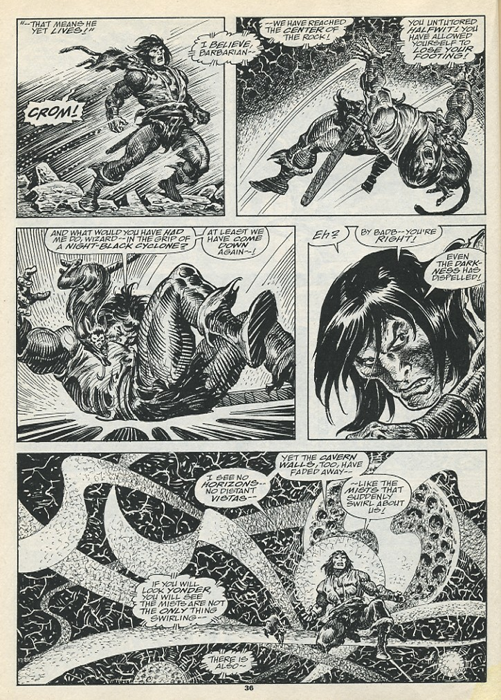 The Savage Sword Of Conan Issue #193 #194 - English 38