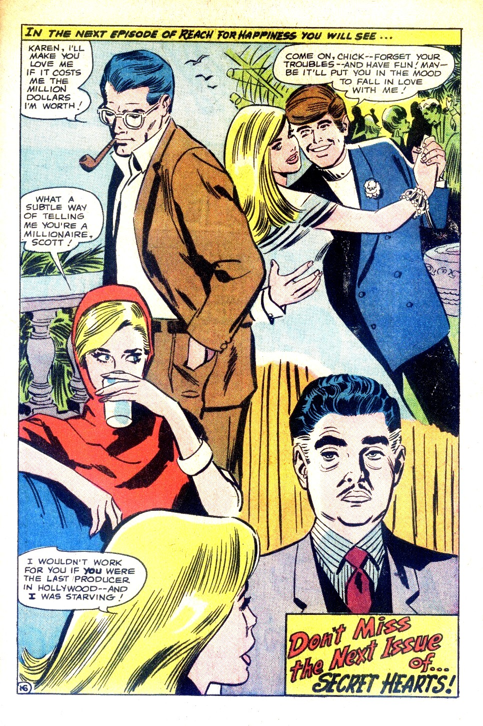 Read online Secret Hearts comic -  Issue #128 - 33