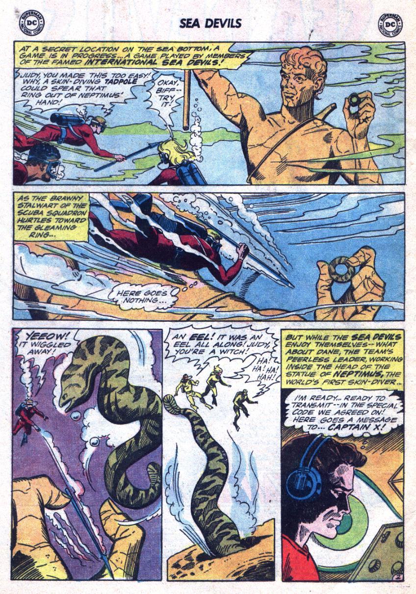 Read online Sea Devils comic -  Issue #24 - 5