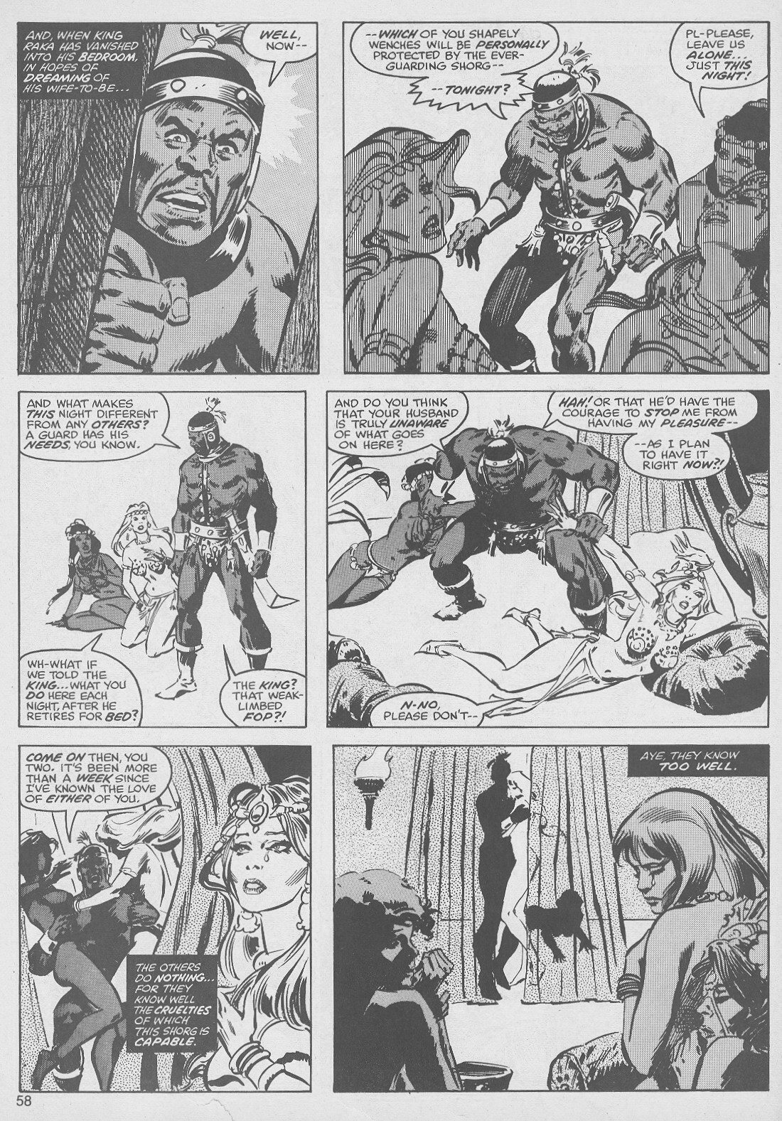 The Savage Sword Of Conan Issue #49 #50 - English 58