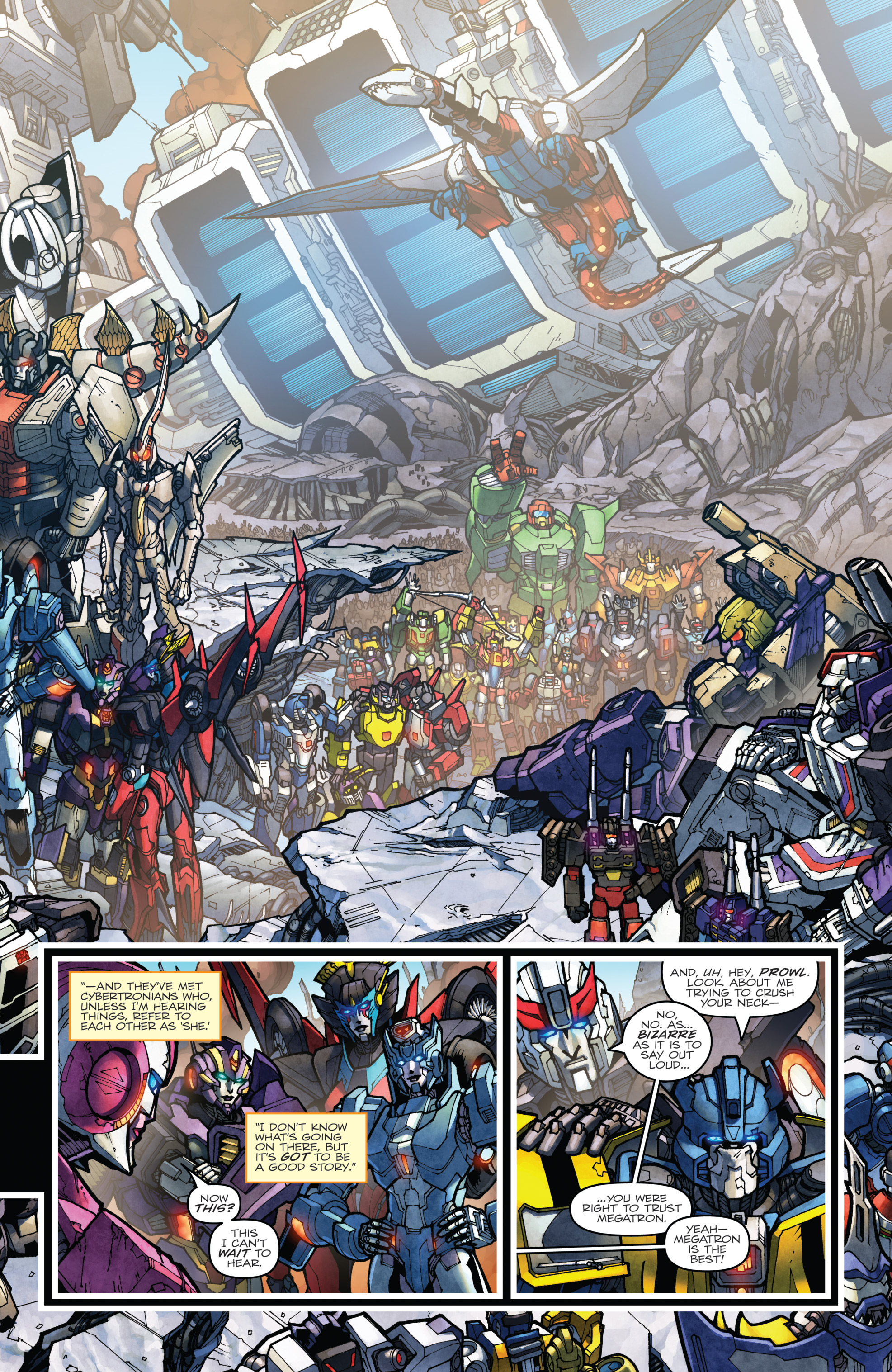 Read online The Transformers: Dark Cybertron Finale comic -  Issue # Full - 82