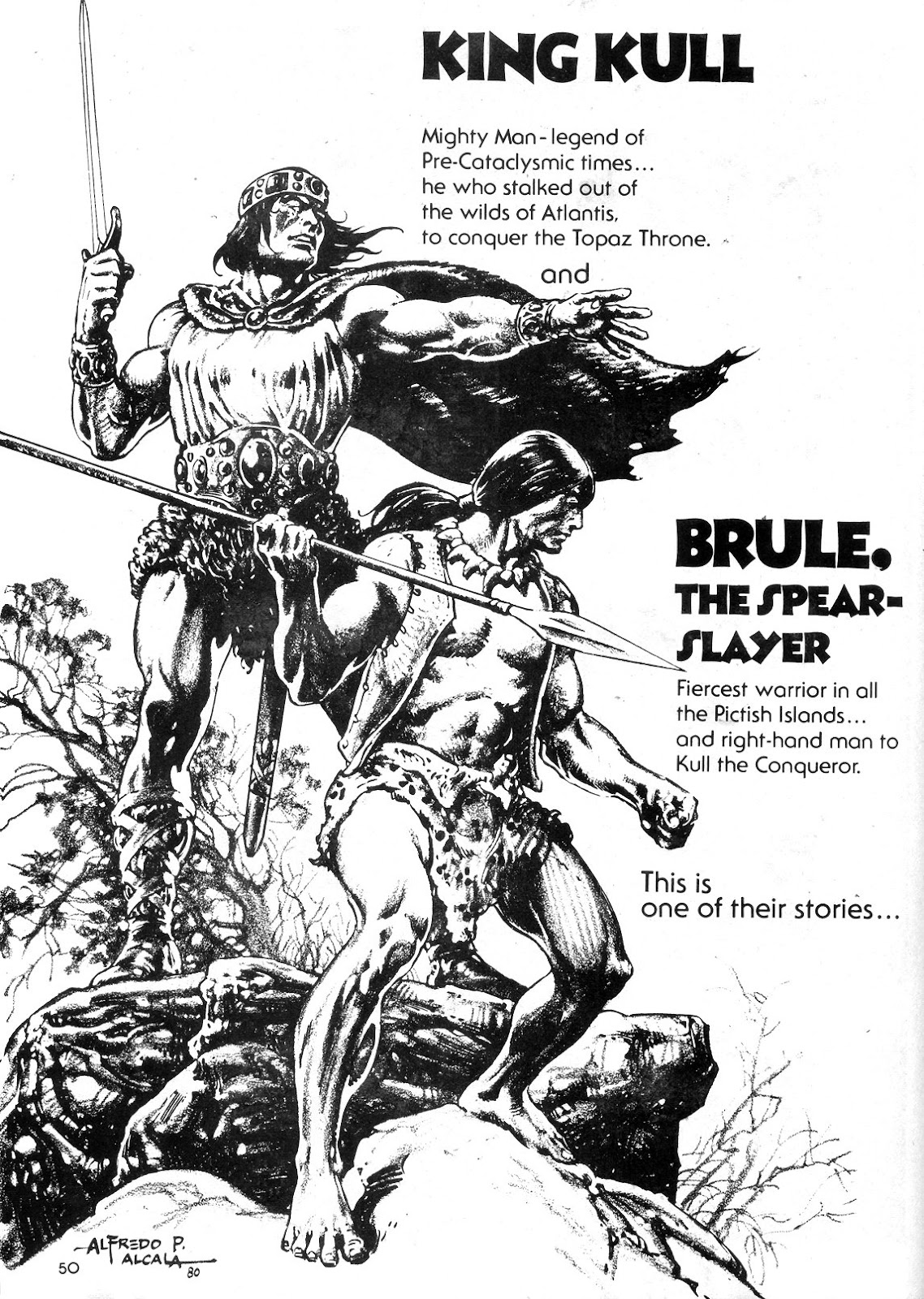 The Savage Sword Of Conan Issue #55 #56 - English 49
