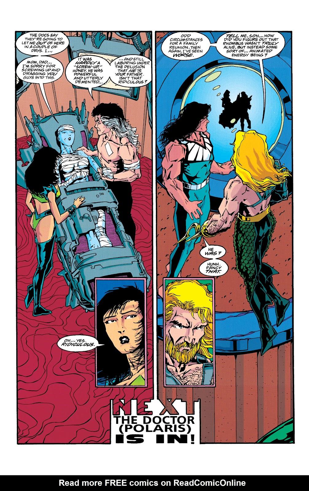 Aquaman (1994) Issue #39 #45 - English 22