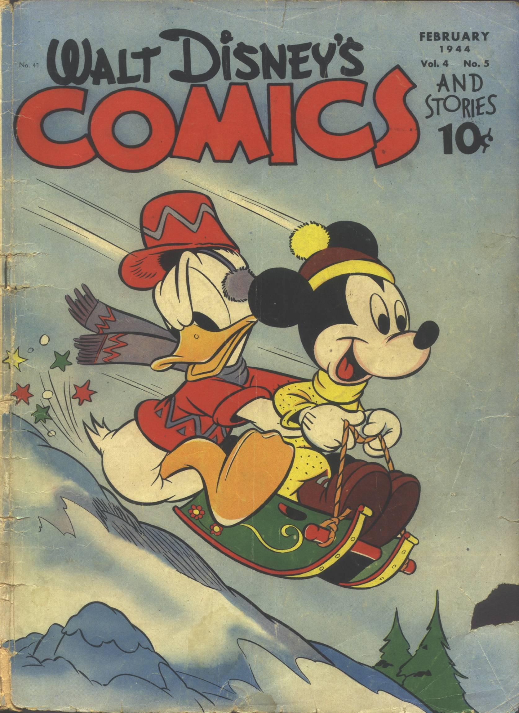 Walt Disneys Comics and Stories 41 Page 1