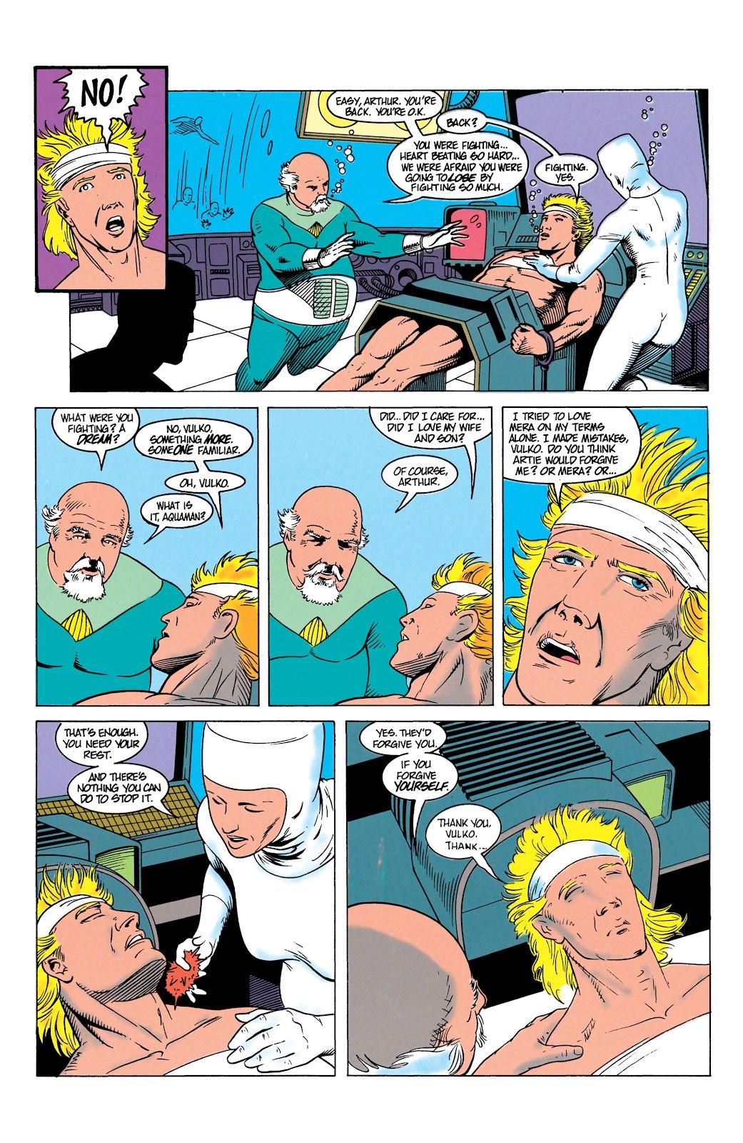 Aquaman (1991) Issue #7 #7 - English 22
