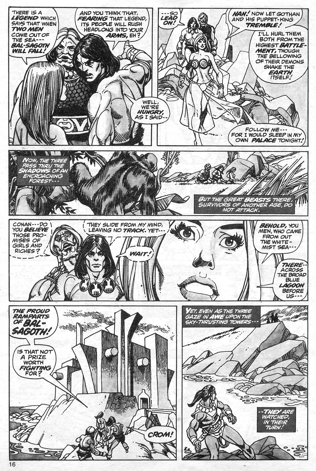 The Savage Sword Of Conan Issue #13 #14 - English 16