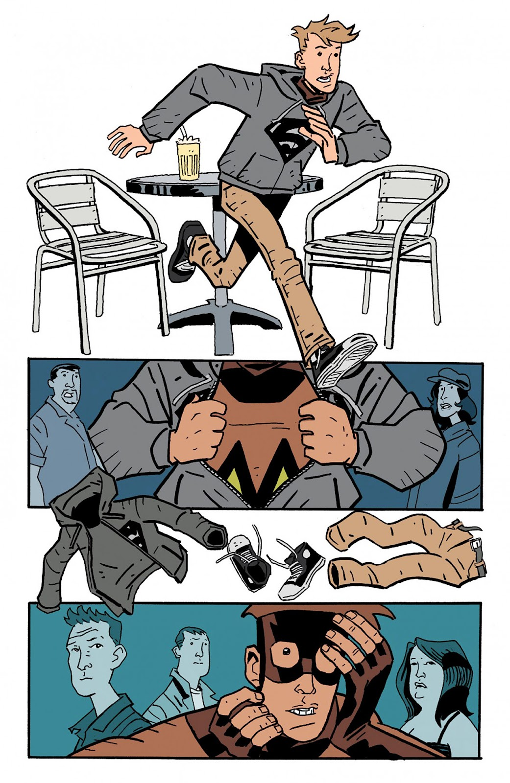 Mudman Issue #4 #4 - English 8