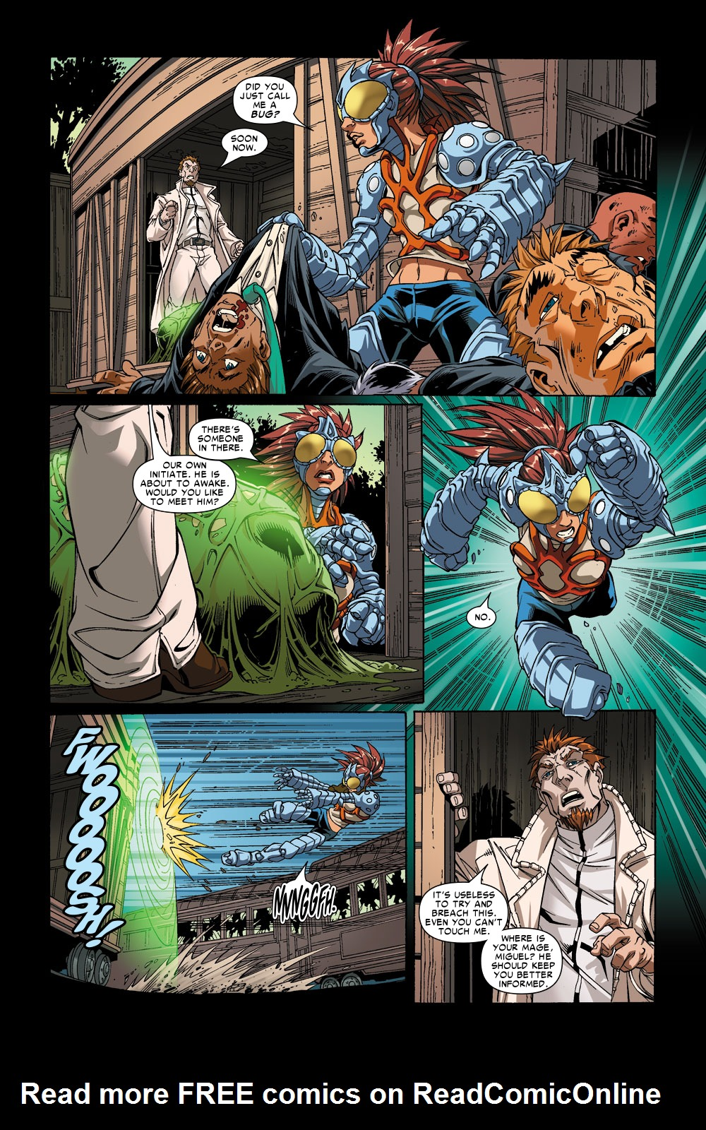 Read online Amazing Fantasy (2004) comic -  Issue #6 - 18