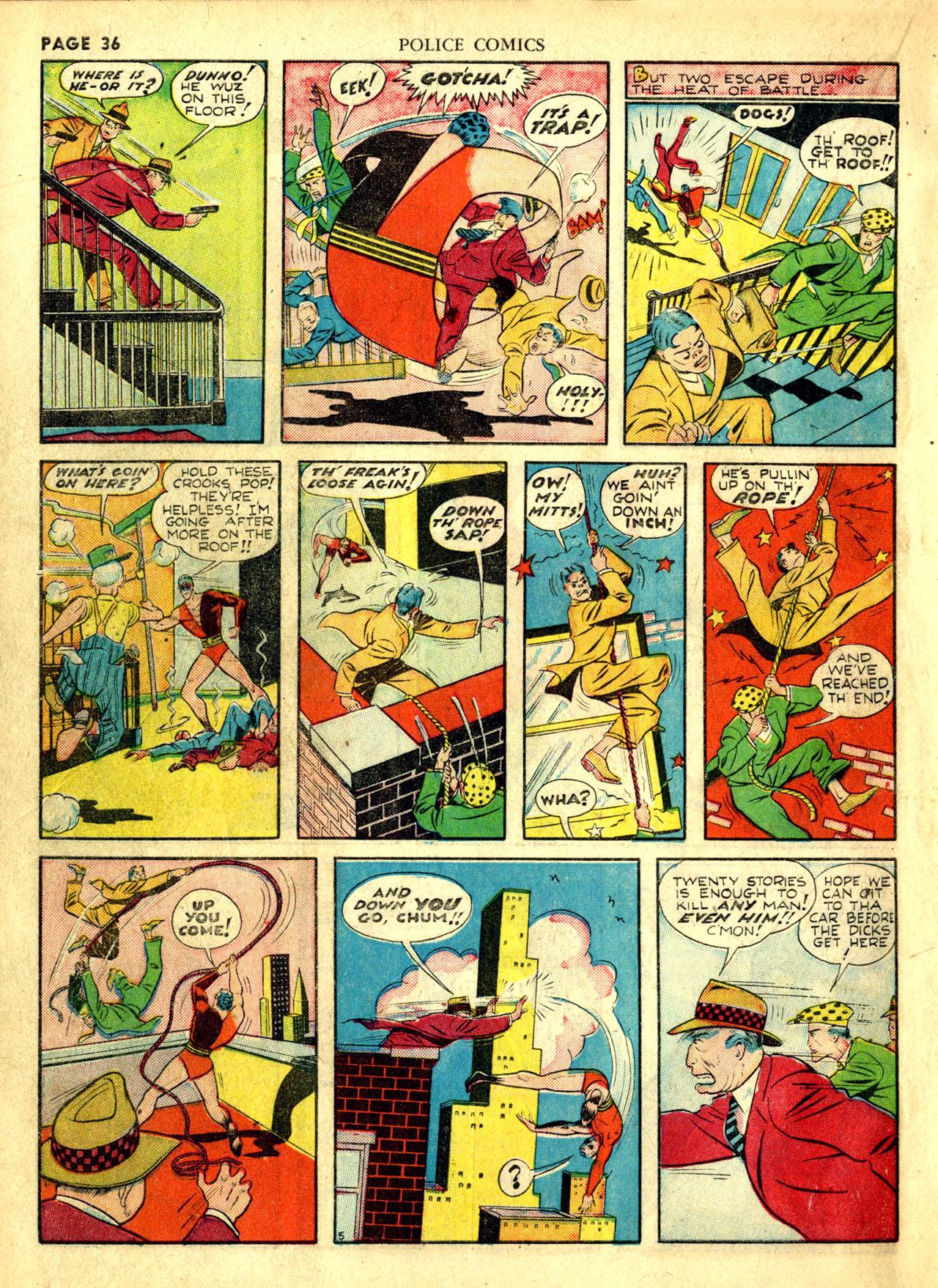 Police Comics #1 #127 - English 39