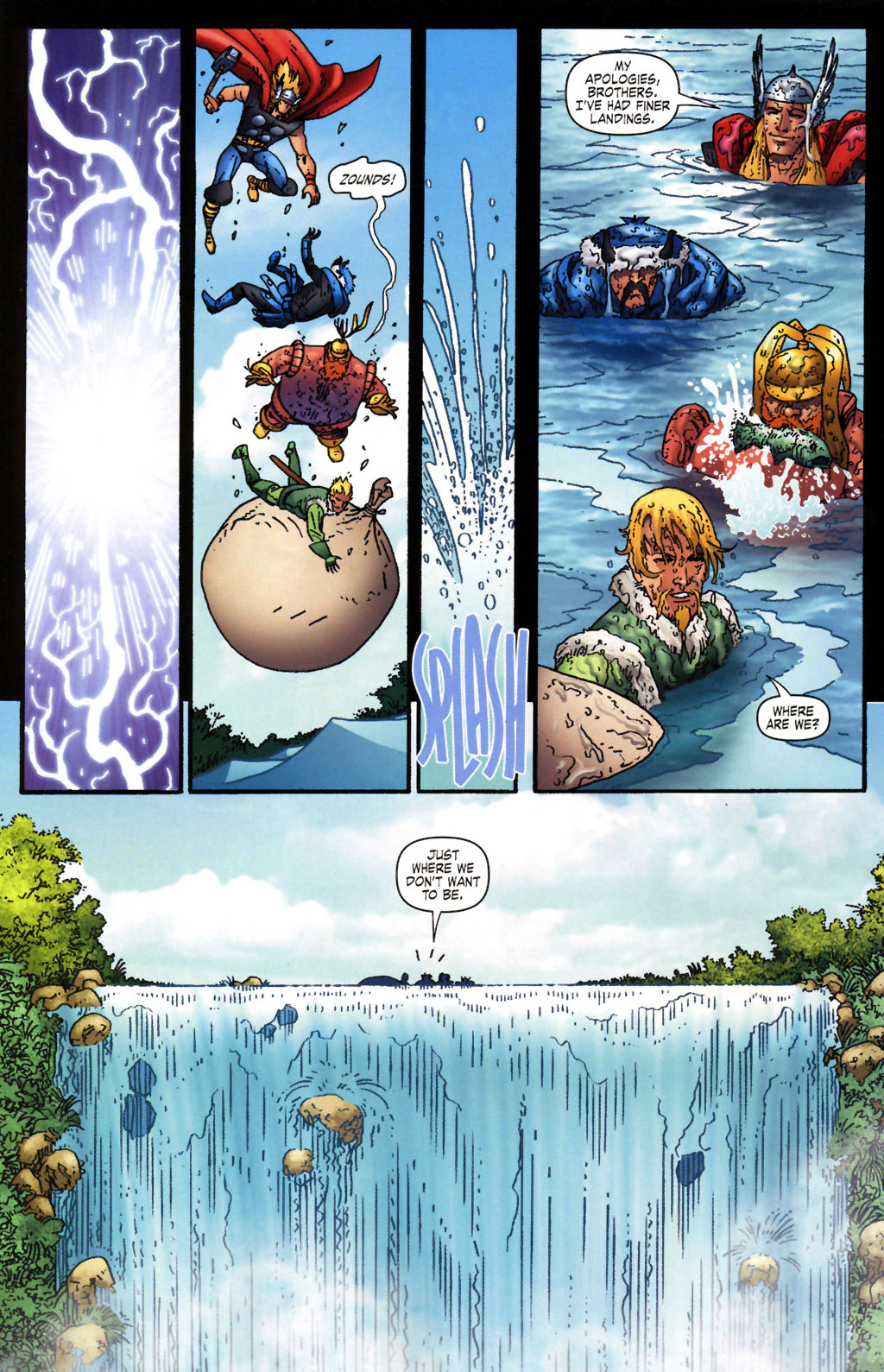 Read online Thor: Blood Oath comic -  Issue #2 - 16
