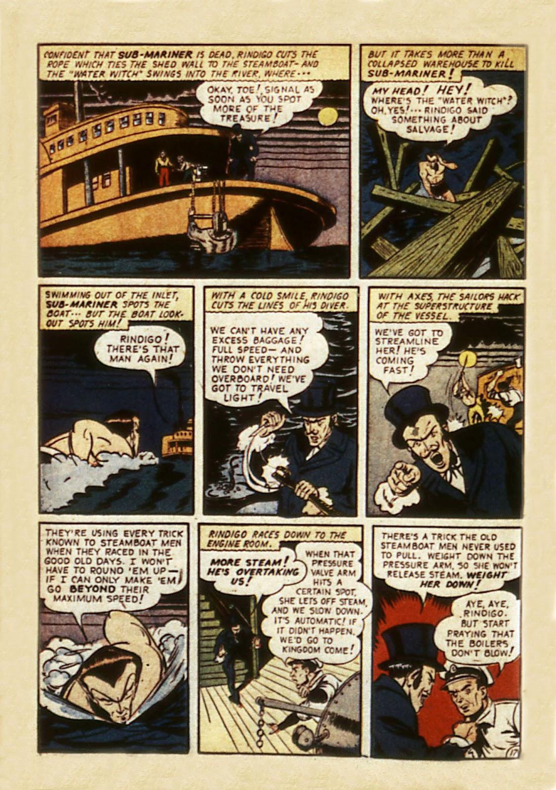 Sub-Mariner Comics Issue #7 #7 - English 62