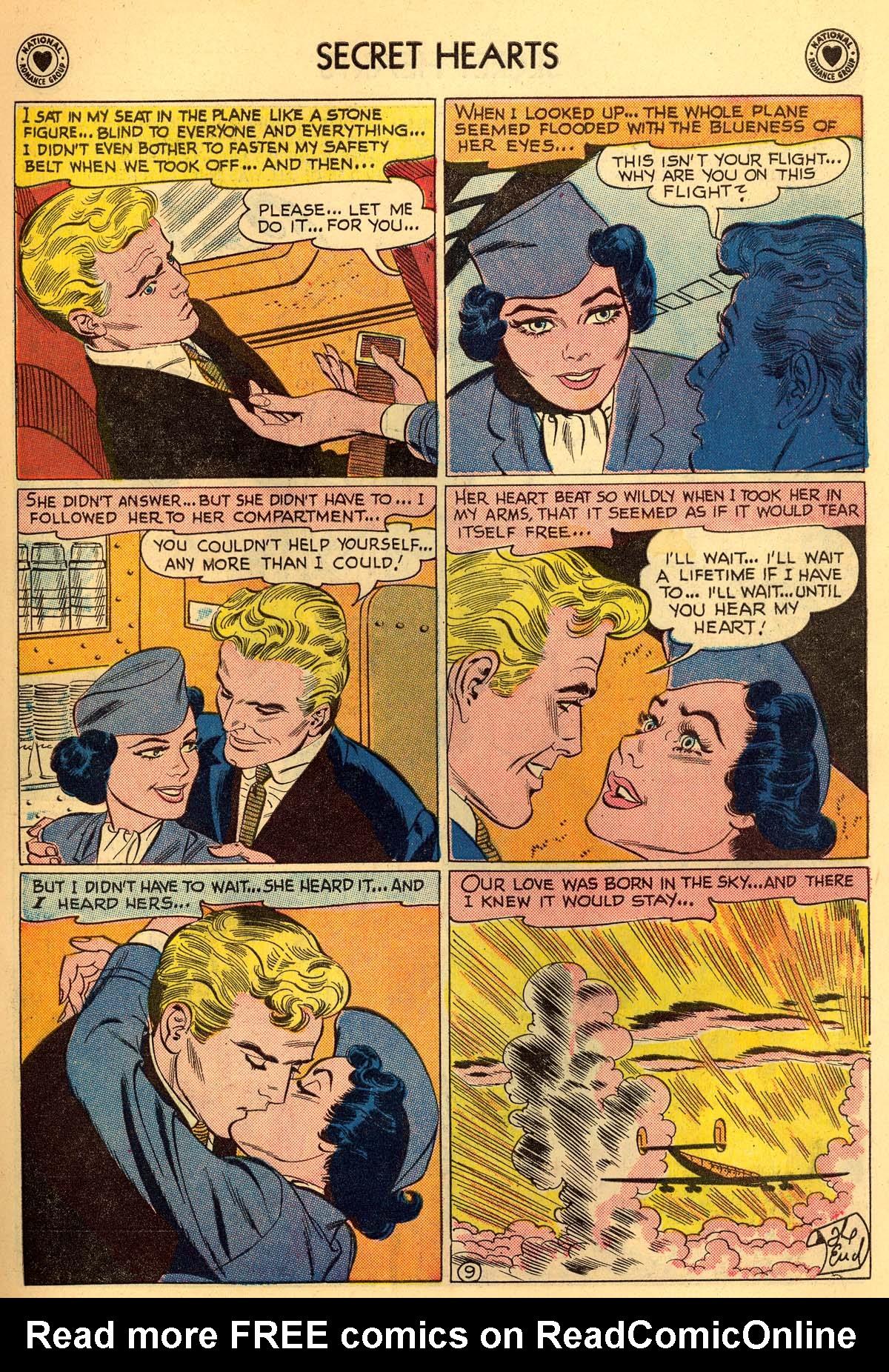 Read online Secret Hearts comic -  Issue #55 - 11