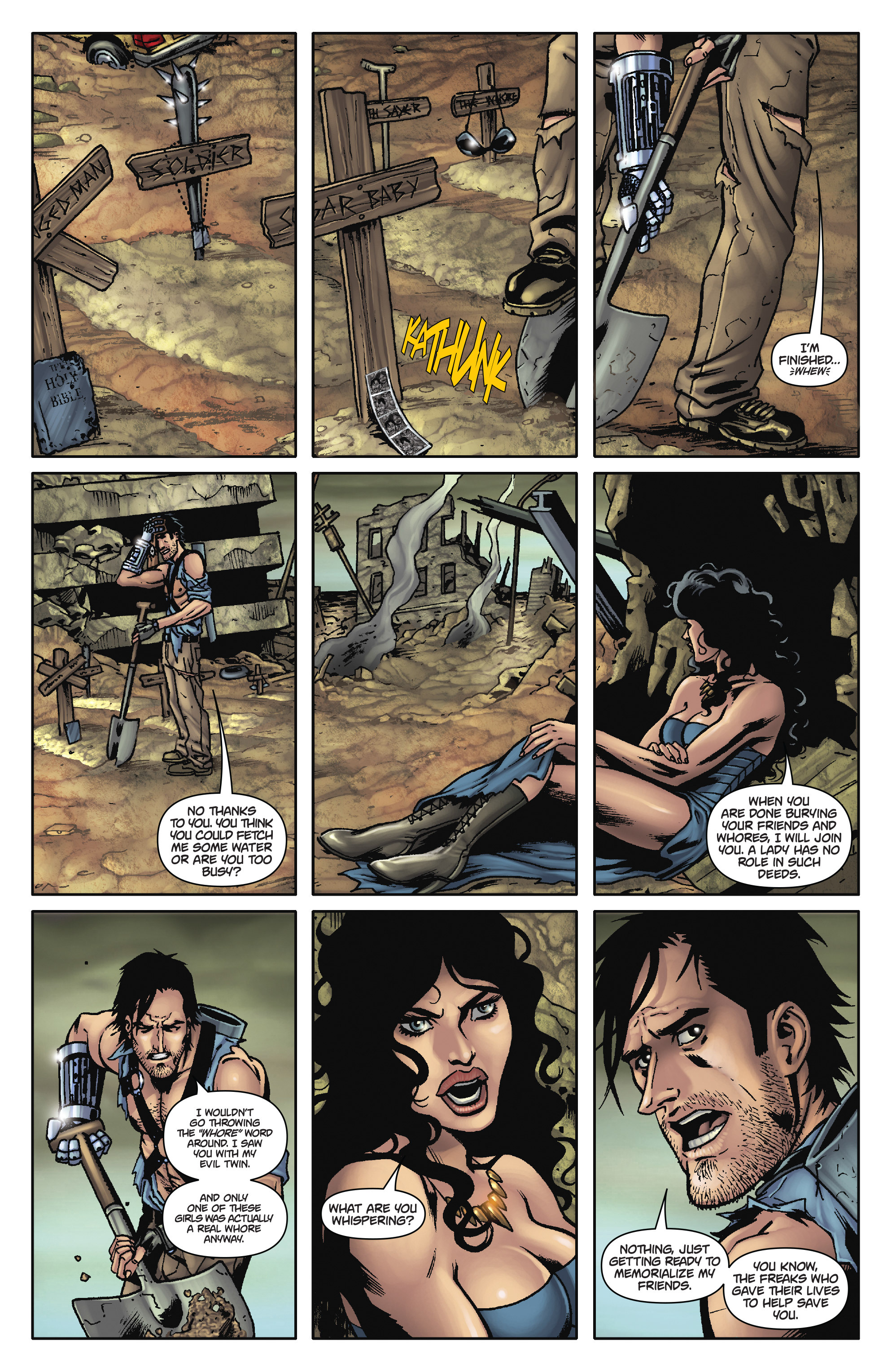 Army of Darkness: The Long Road Home TPB Page 19