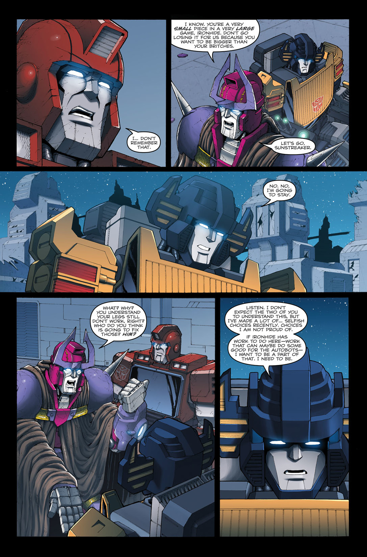 Read online The Transformers: Ironhide comic -  Issue #4 - 21