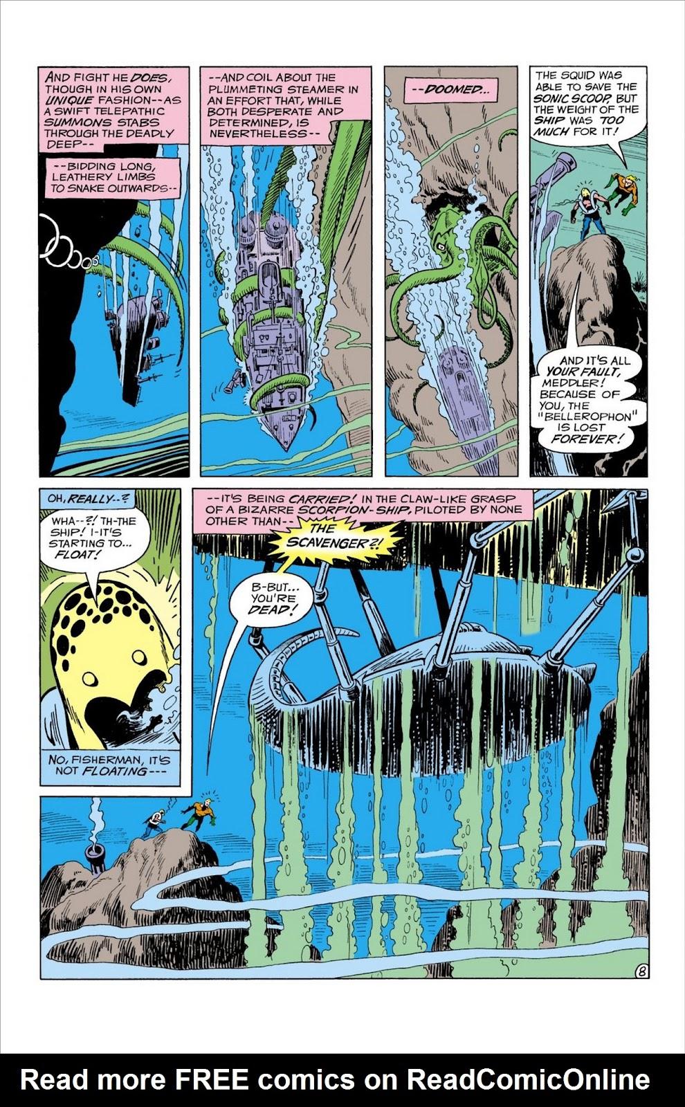 Aquaman (1962) Issue #59 #59 - English 9