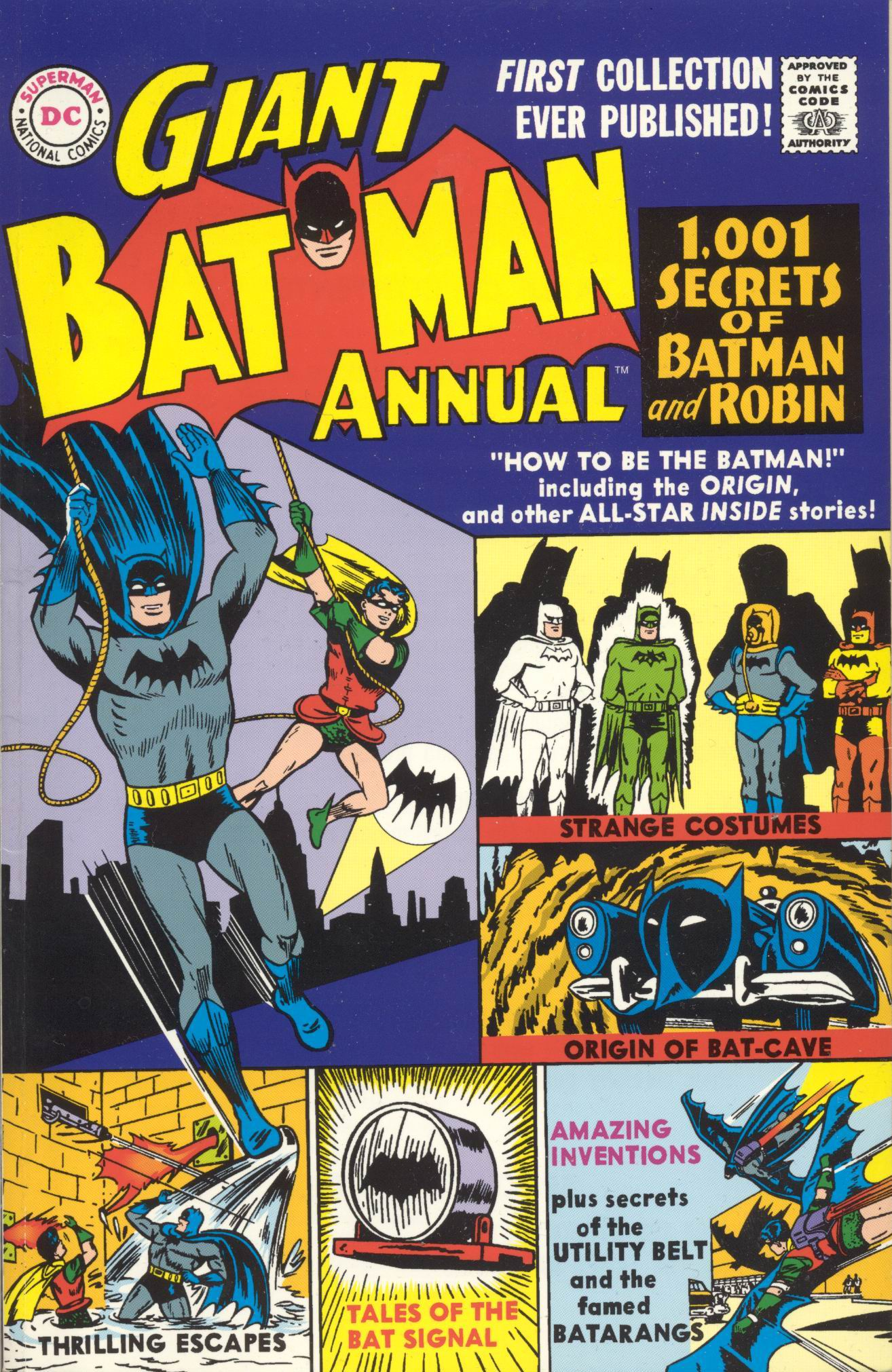 Batman (1940) _Annual_1 Page 1