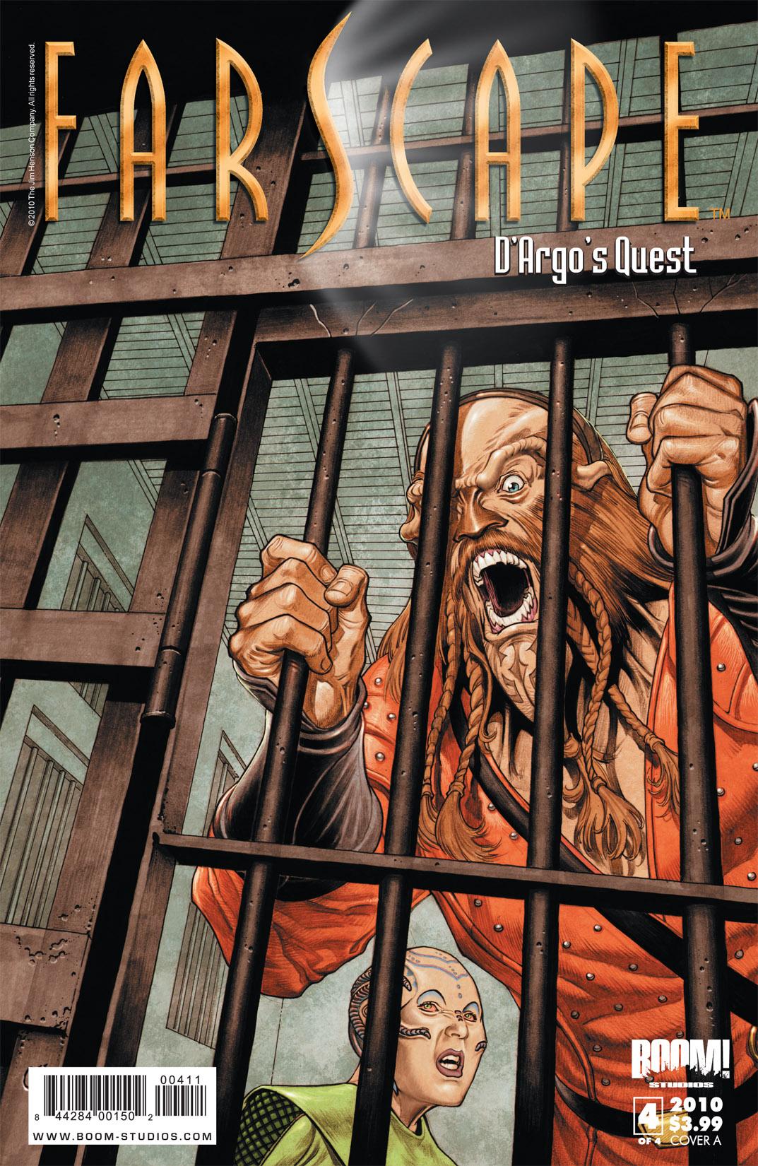 Read online Farscape: D'Argo's Quest comic -  Issue #4 - 1