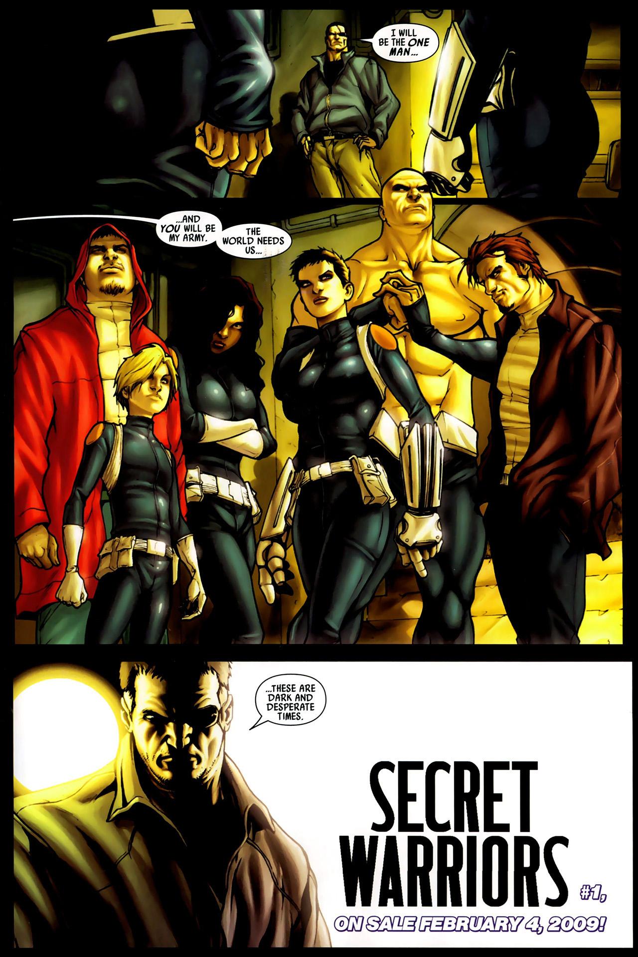 Read online Secret Invasion: Dark Reign comic -  Issue # Full - 33