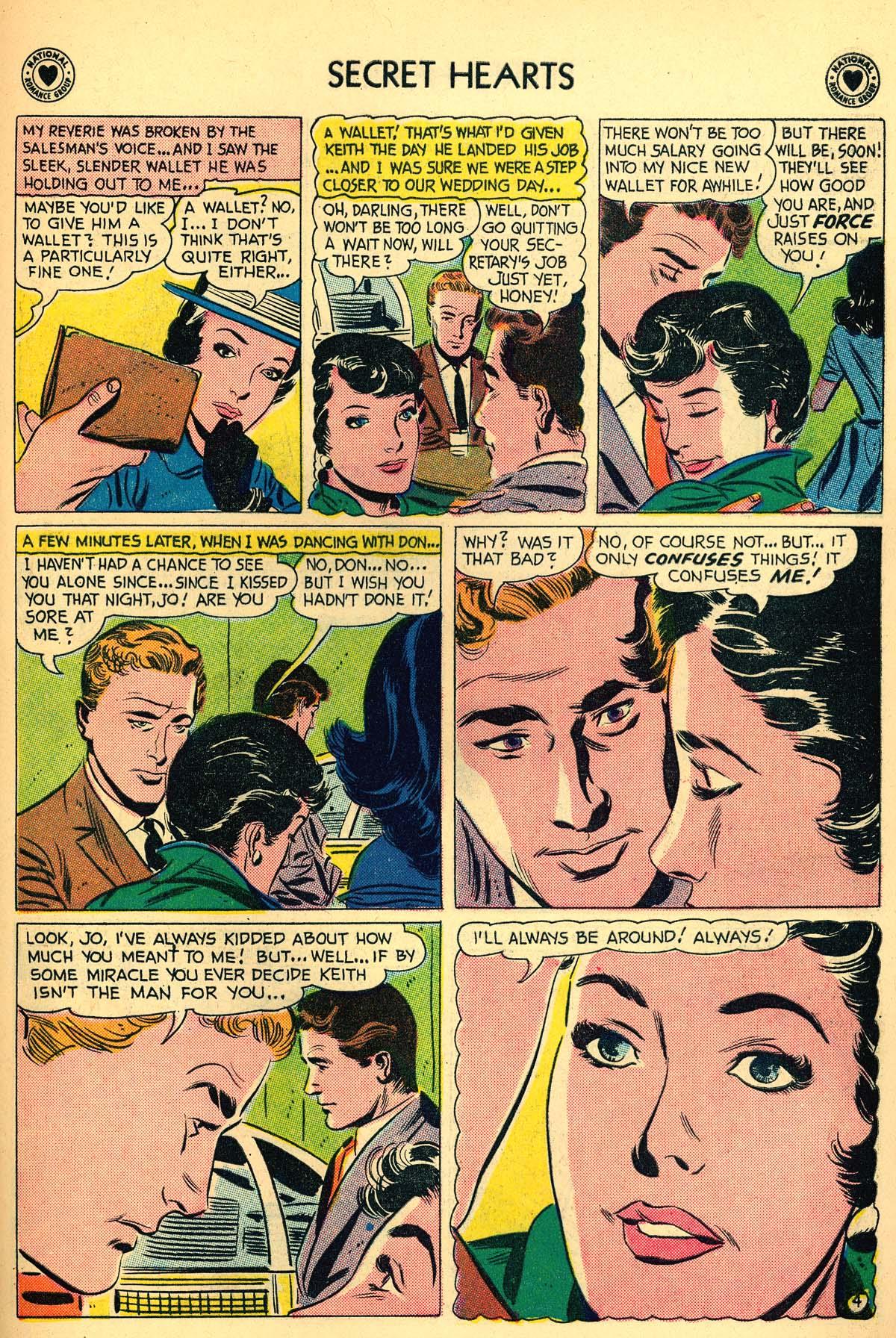 Read online Secret Hearts comic -  Issue #55 - 23