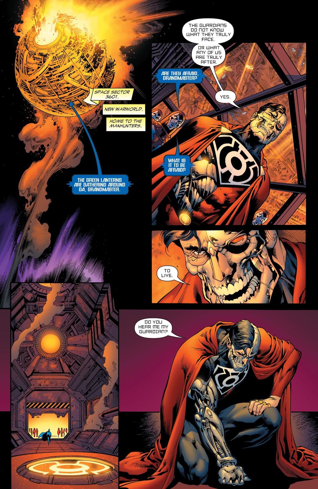 Green Lantern: The Sinestro Corps War Full #1 - English 101