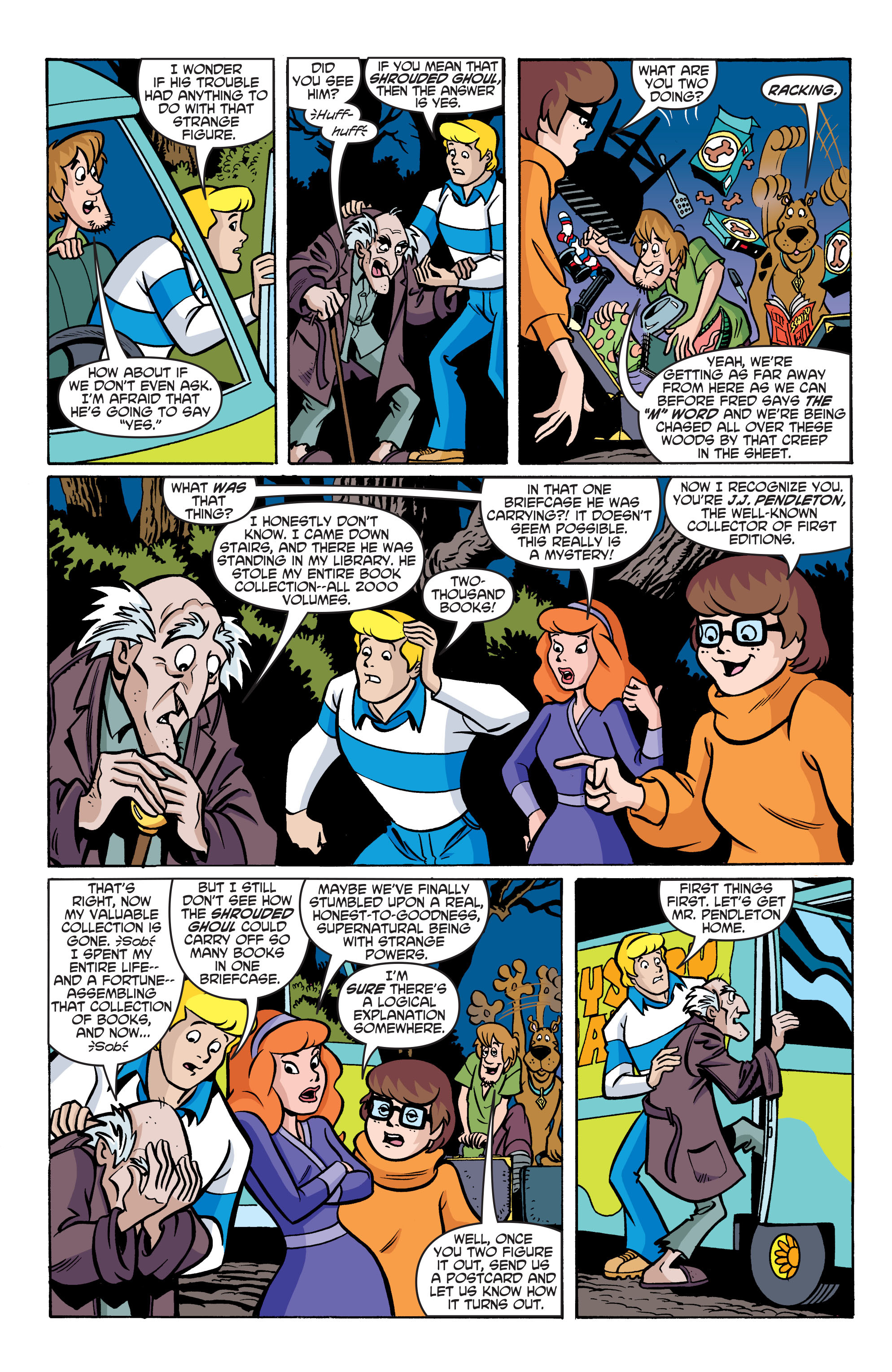 Read online Scooby-Doo: Where Are You? comic -  Issue #76 - 14