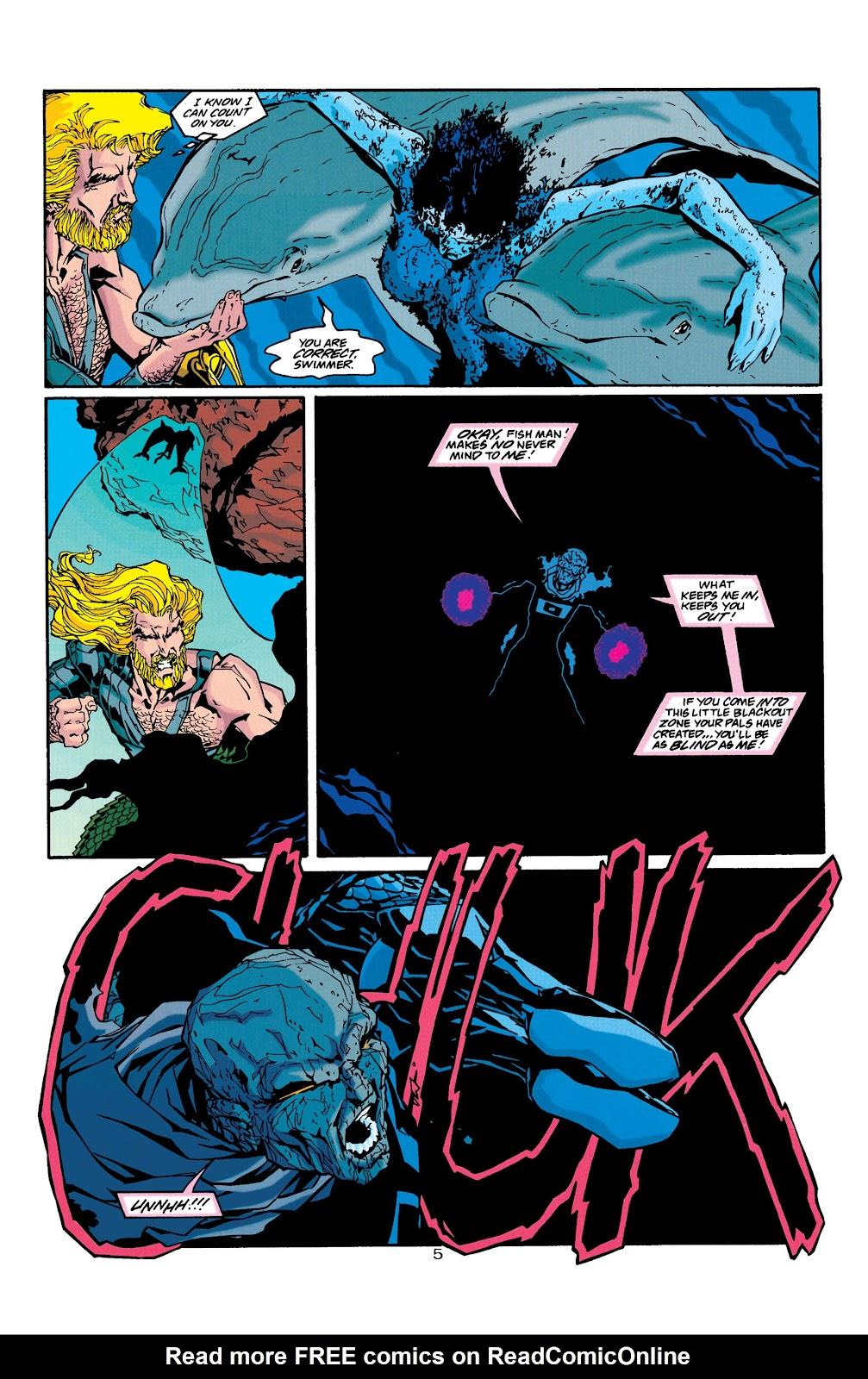 Aquaman (1994) Issue #39 #45 - English 6