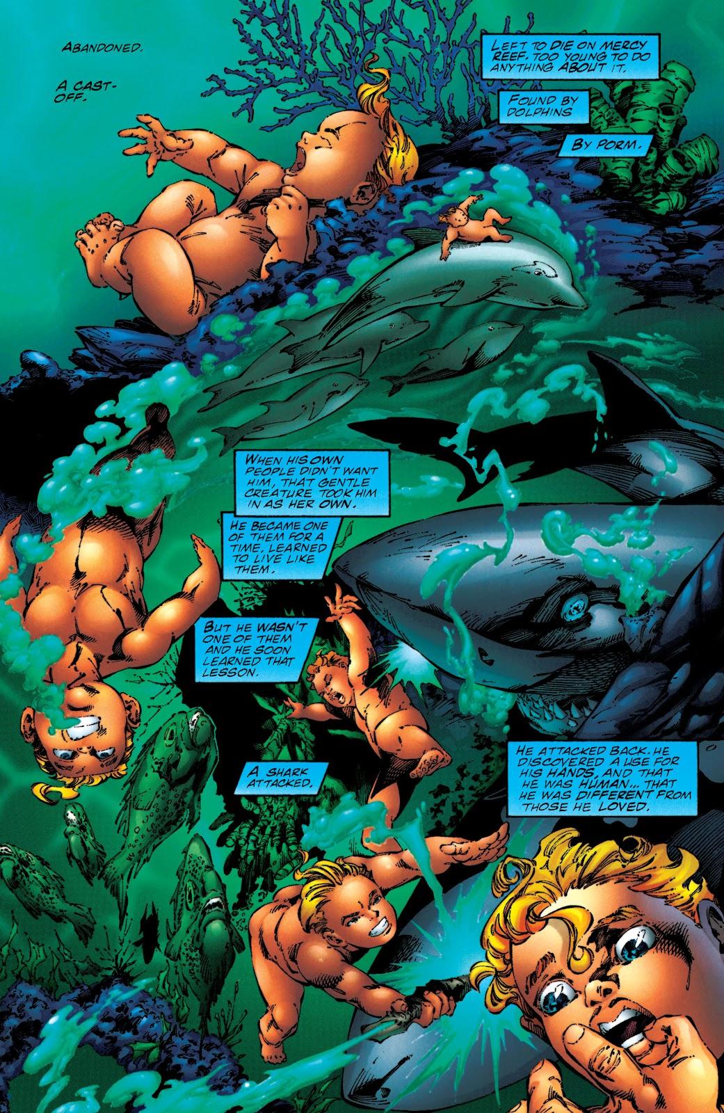Aquaman (1994) Issue #50 #56 - English 5