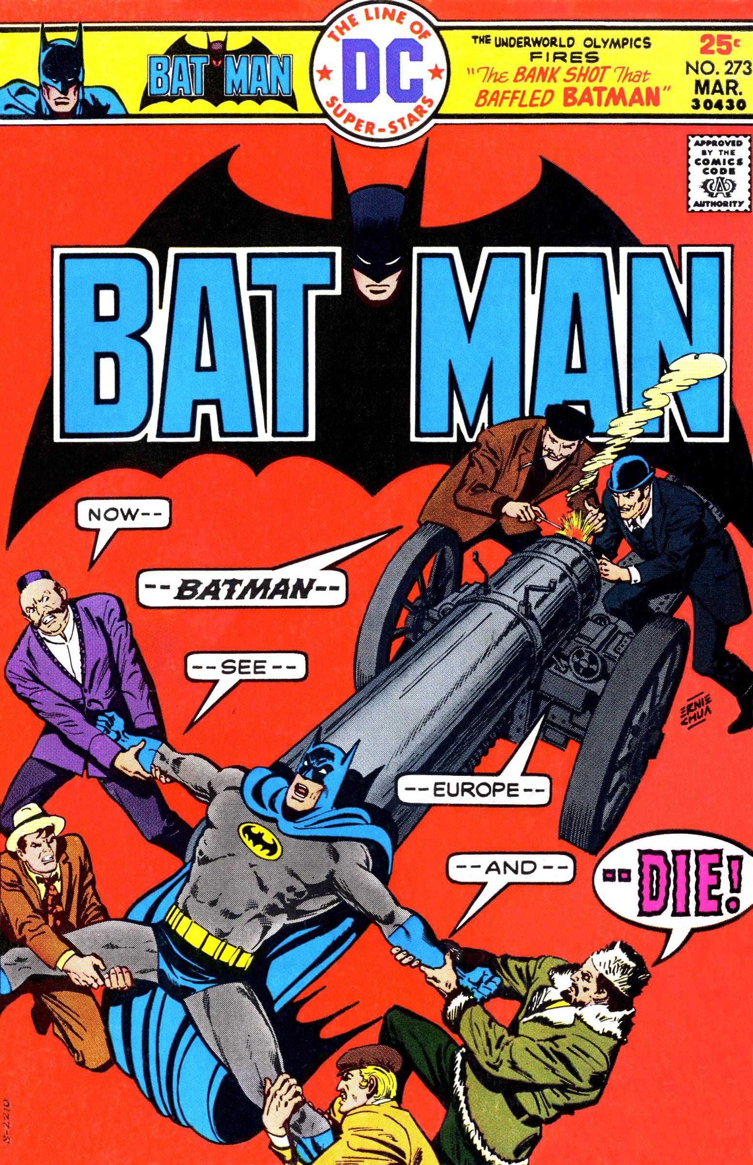 Batman (1940) 273 Page 1