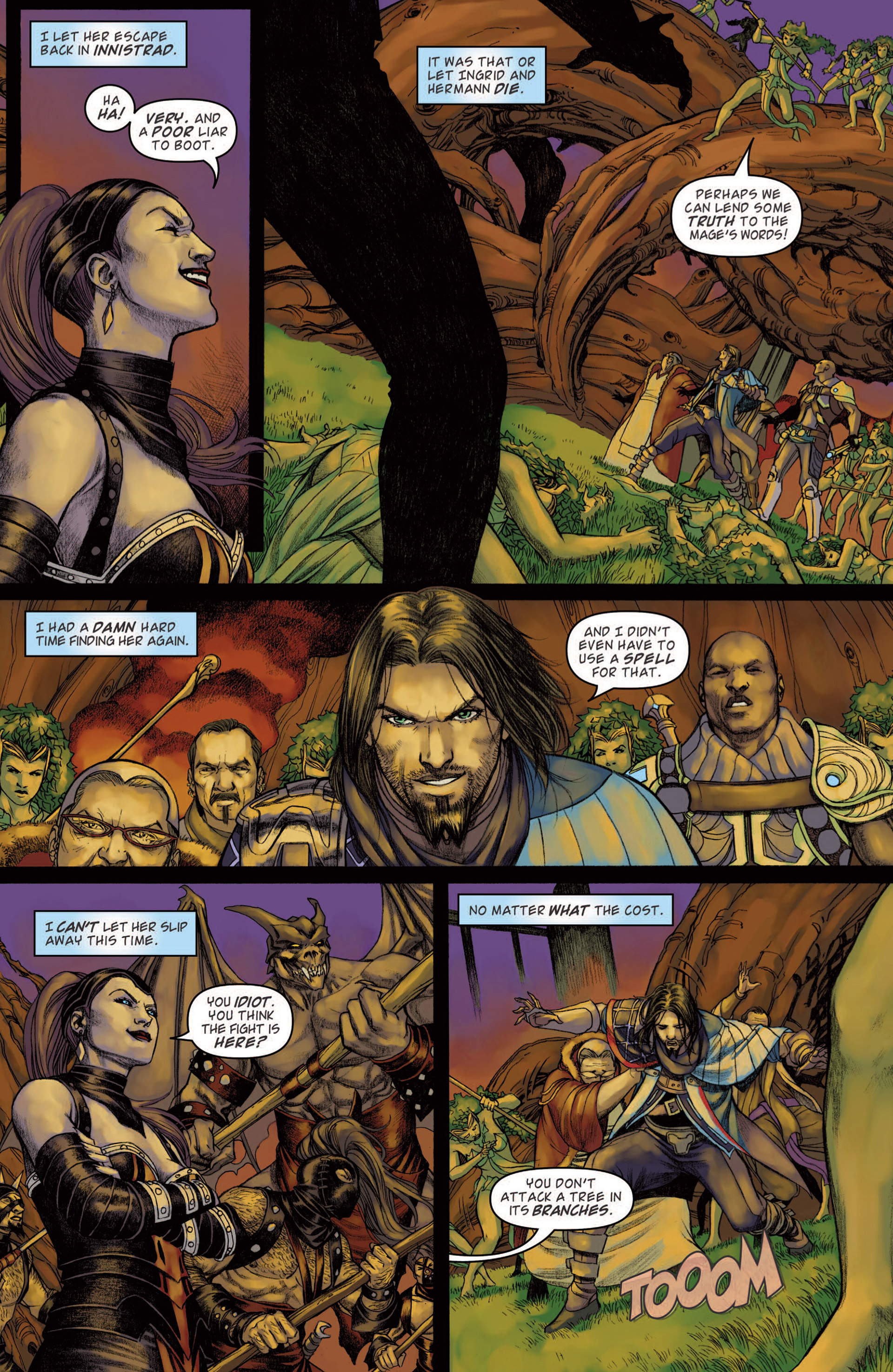 Read online Magic: The Gathering--Path of Vengeance comic -  Issue #4 - 5