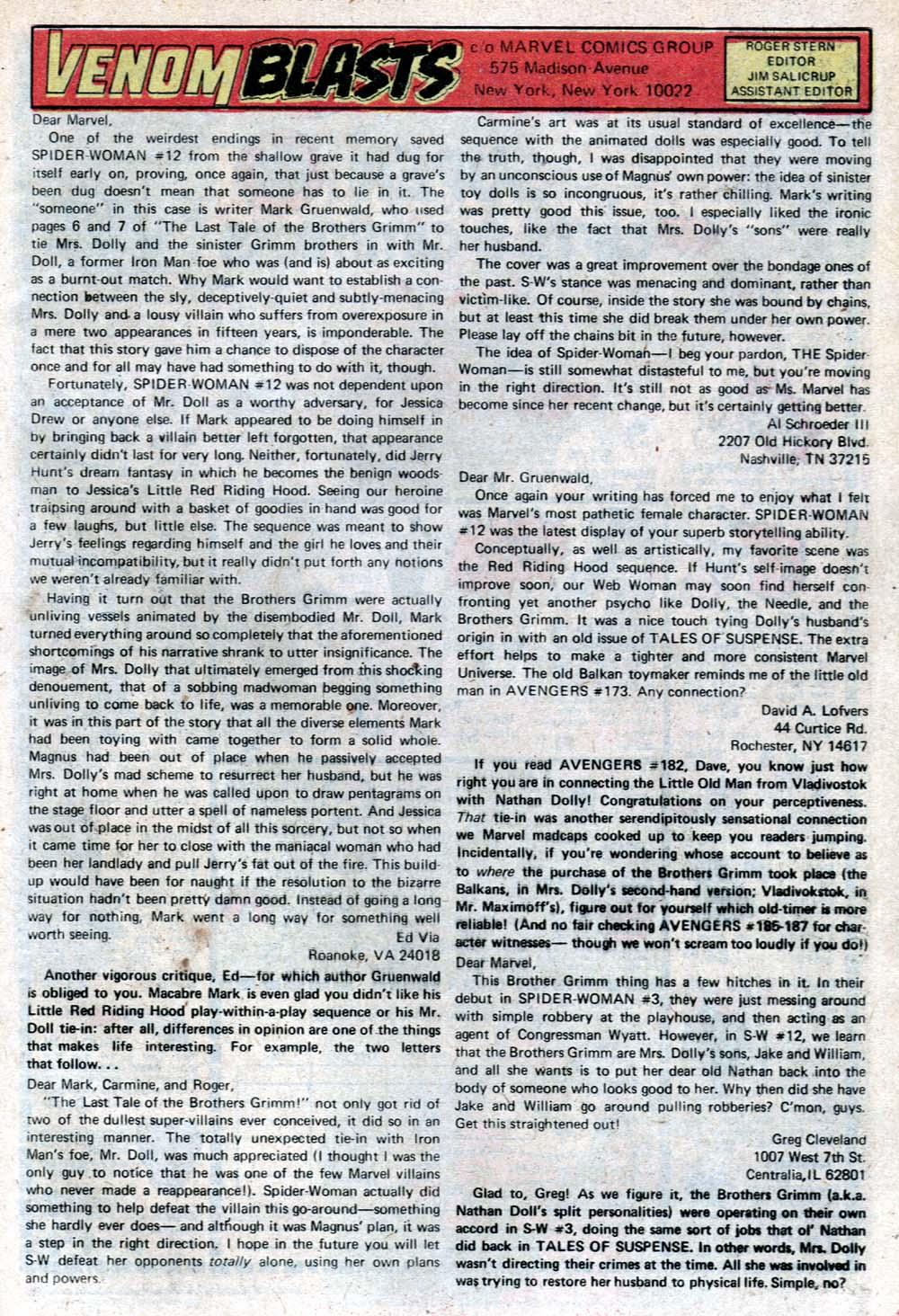 Spider-Woman (1978) #16 #35 - English 22