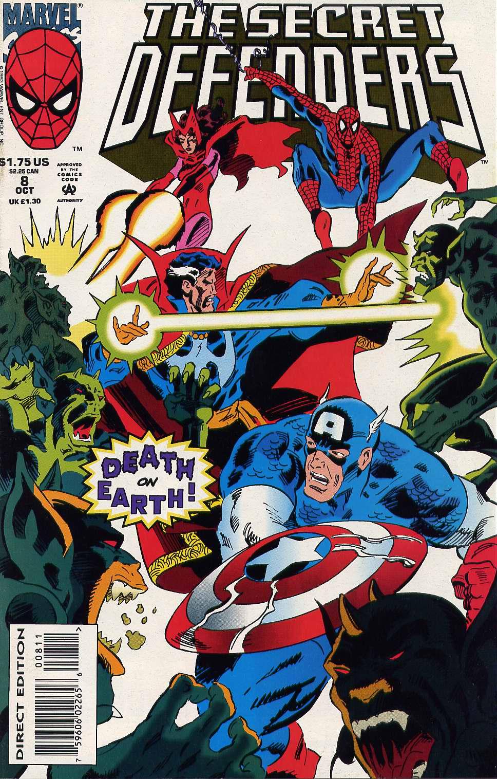 Read online Secret Defenders comic -  Issue #8 - 1