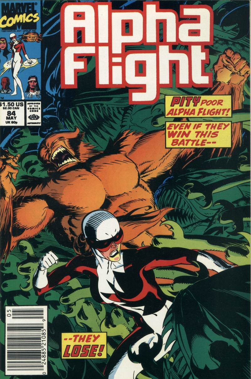 Alpha Flight (1983) 84 Page 1