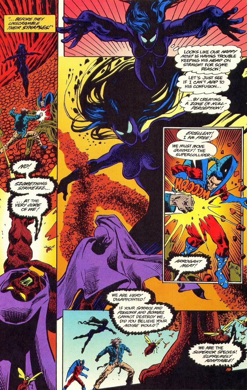 Read online Secret Defenders comic -  Issue #19 - 11