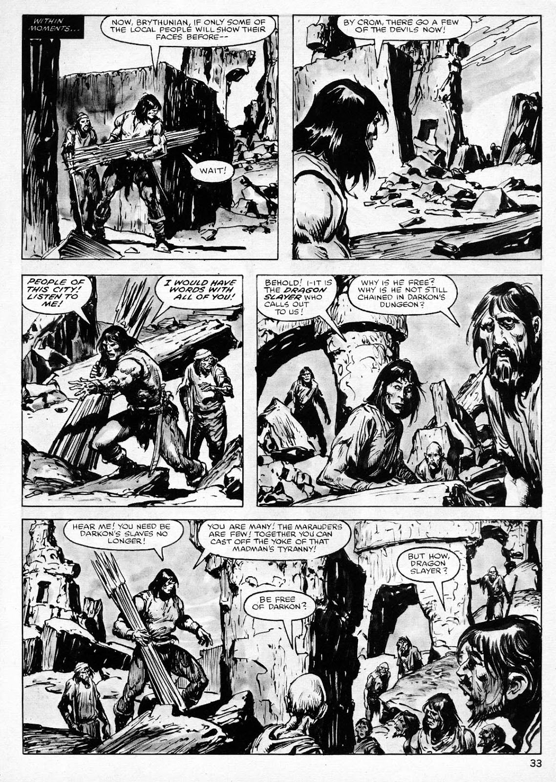 The Savage Sword Of Conan Issue #77 #78 - English 33
