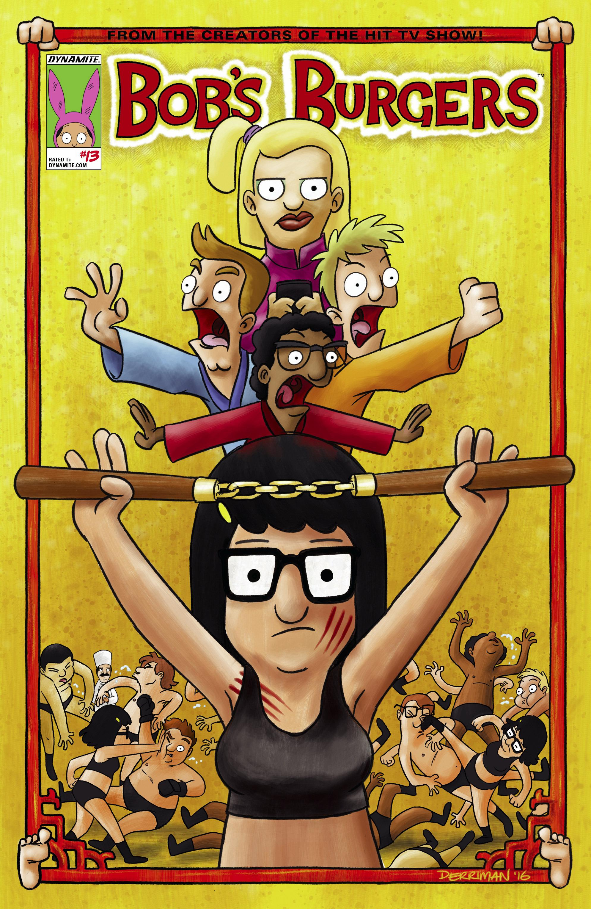 Read online Bob's Burgers (2015) comic -  Issue #13 - 1