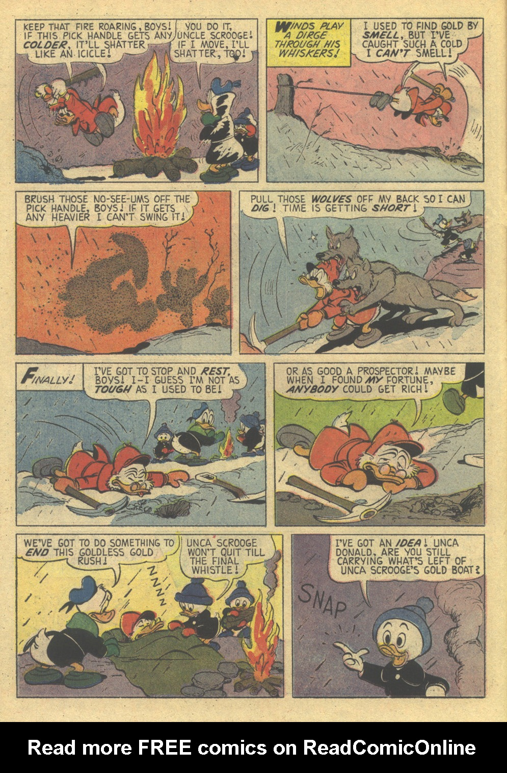 Uncle Scrooge (1953) Issue #86 #86 - English 14