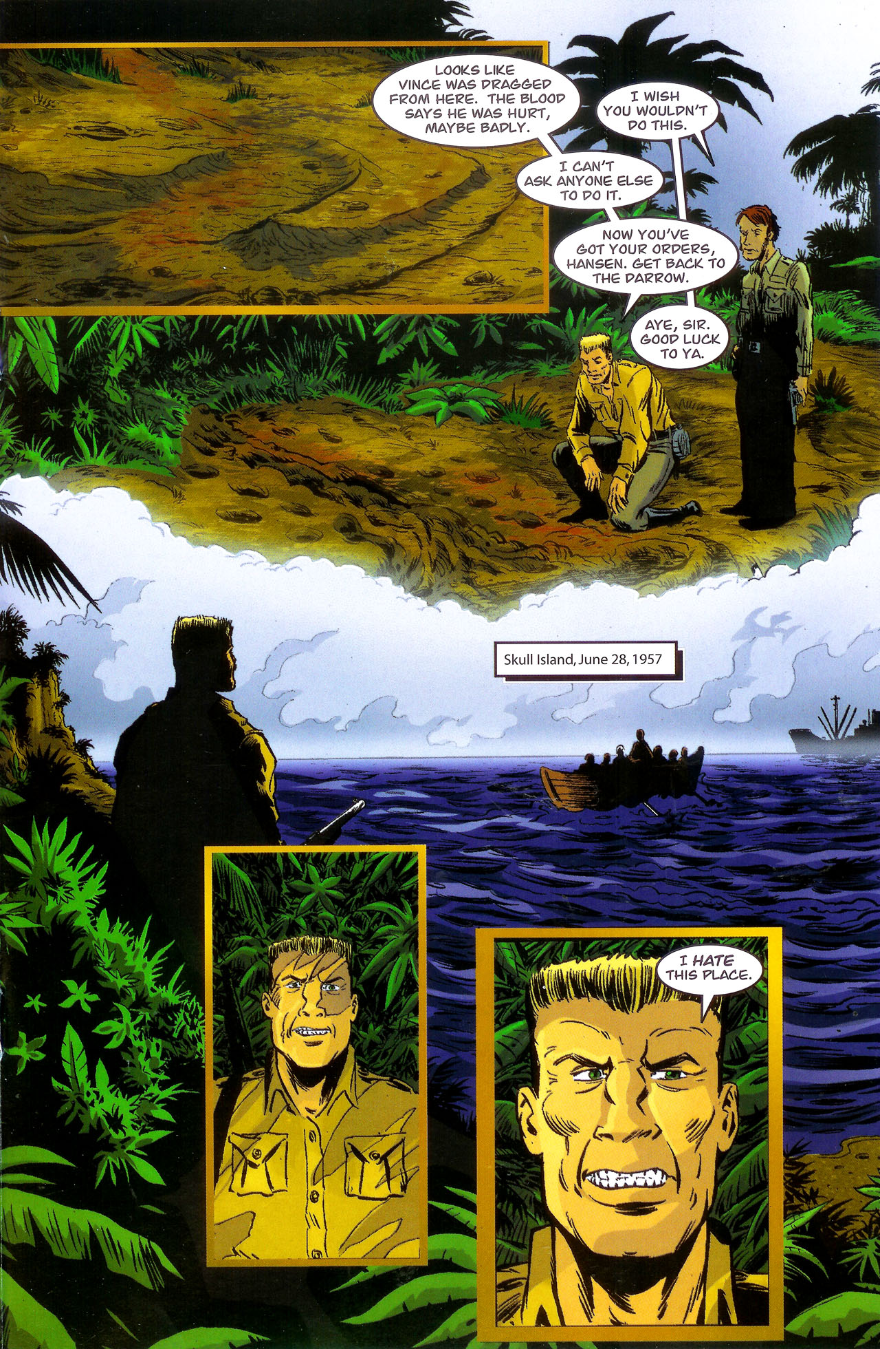 Read online Kong: King Of Skull Island comic -  Issue #1 - 17