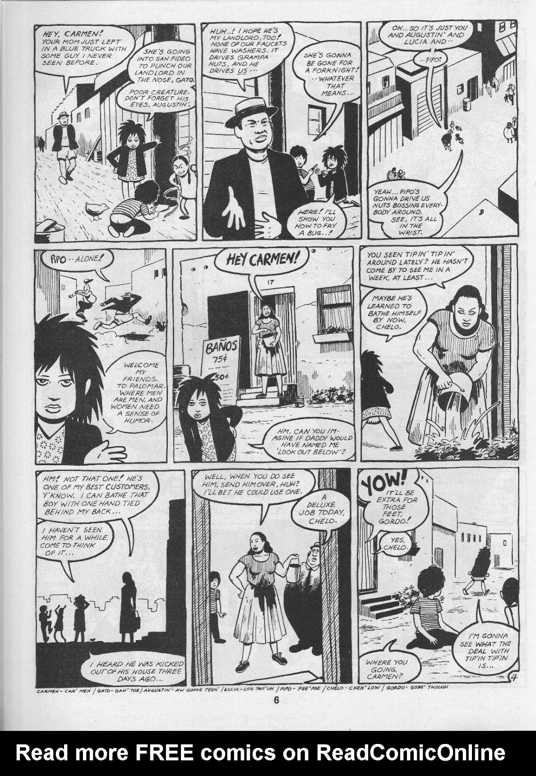 Love and Rockets (1982) Issue #3 #2 - English 8