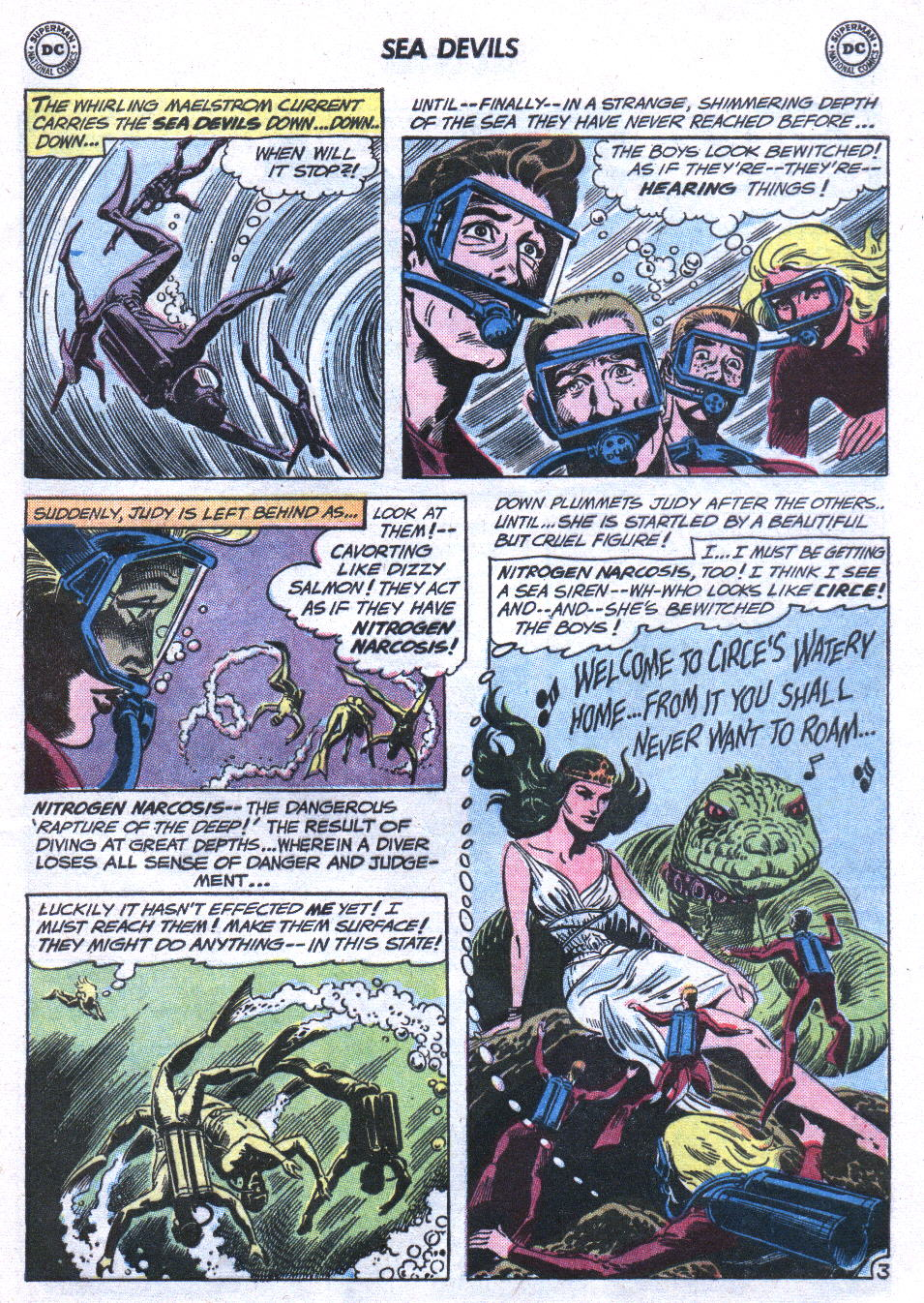 Read online Sea Devils comic -  Issue #3 - 22