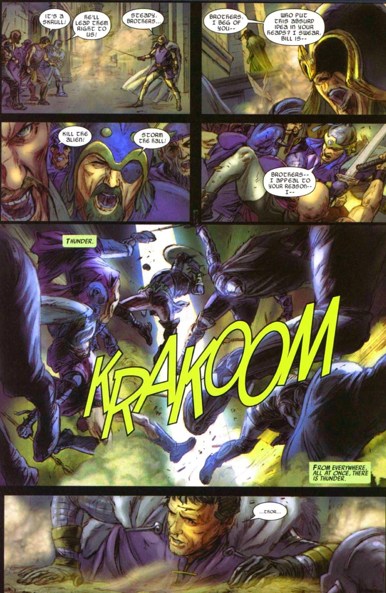 Read online Secret Invasion: Thor comic -  Issue #1 - 16
