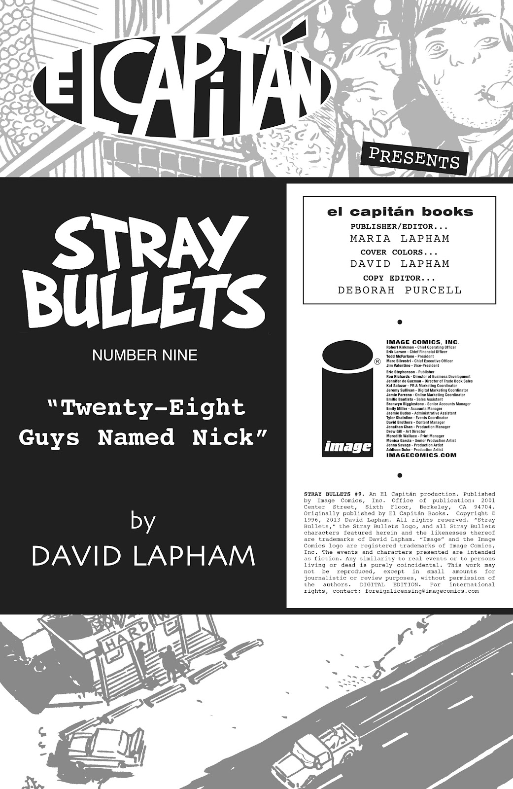 Stray Bullets Issue #9 #9 - English 2