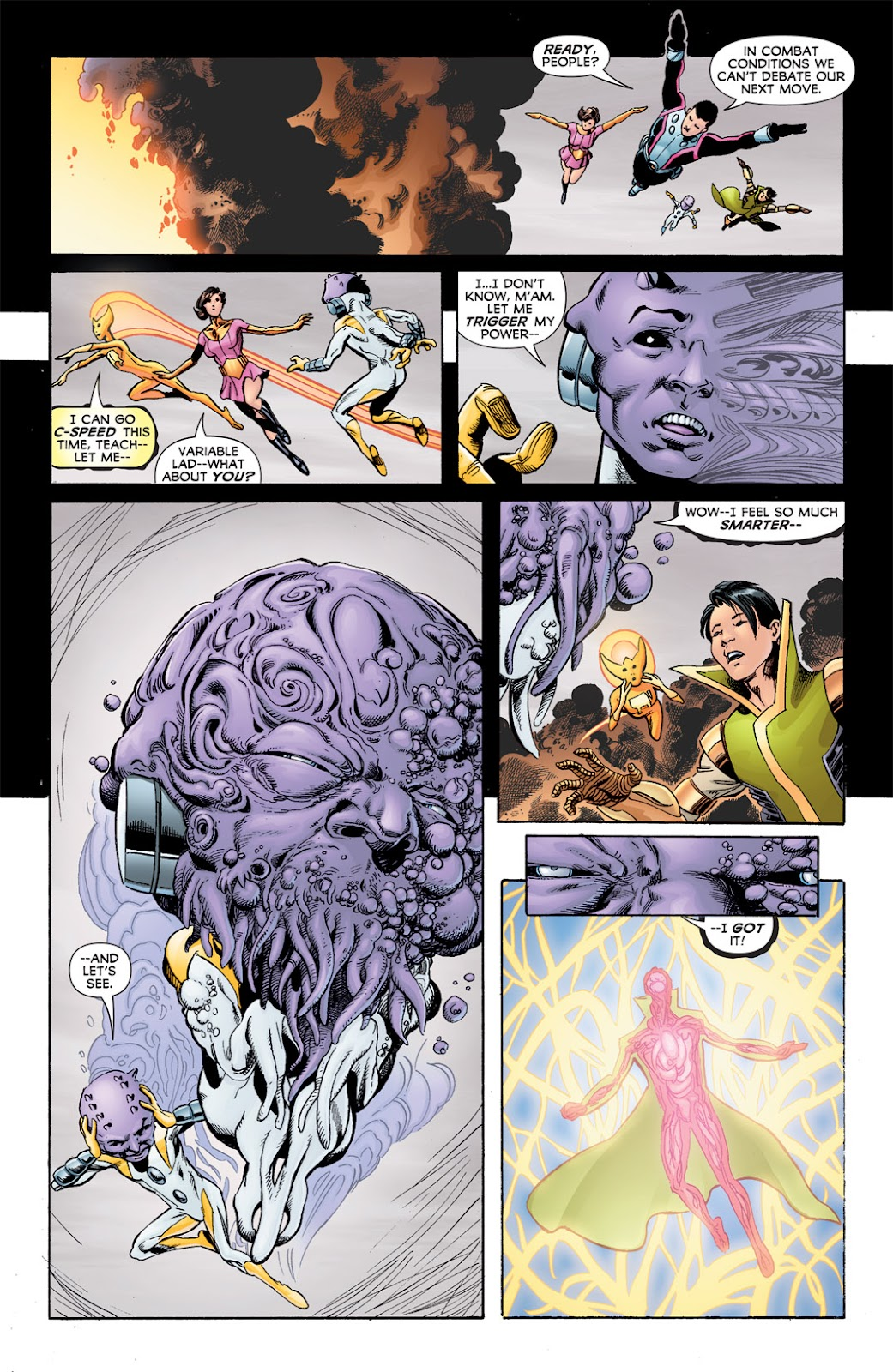 Legion of Super-Heroes (2010) Issue #6 #7 - English 27