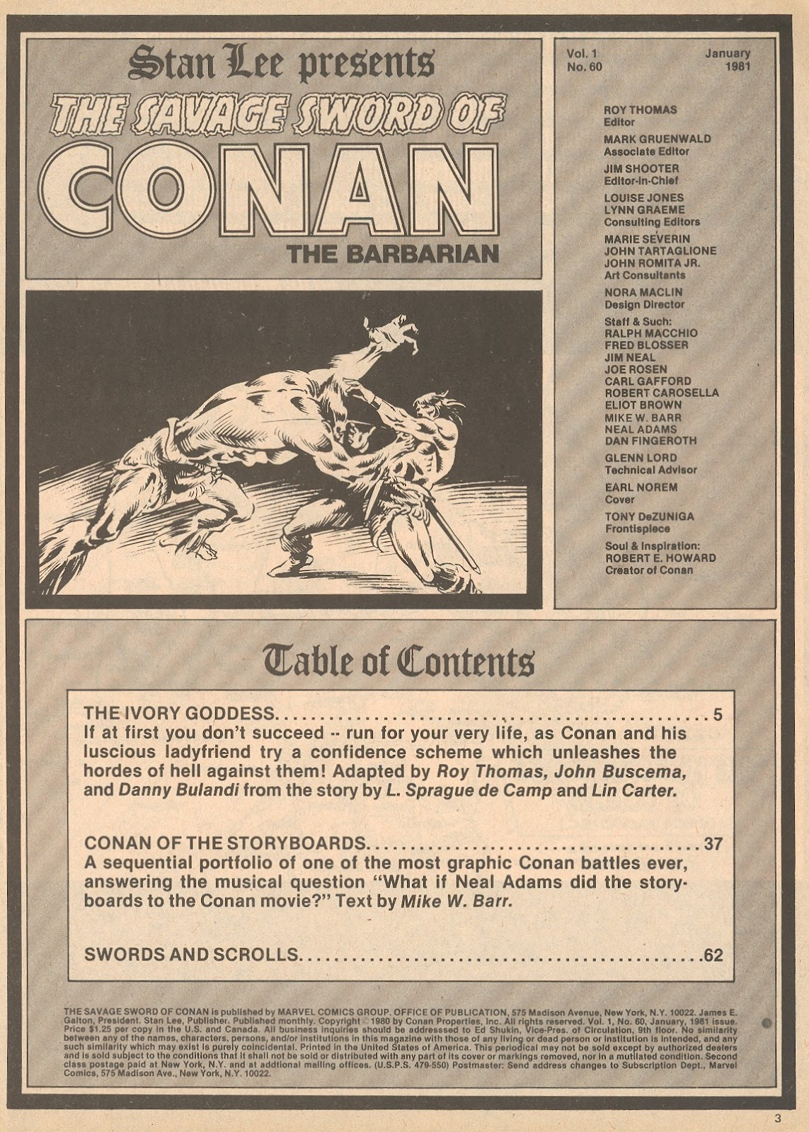 The Savage Sword Of Conan Issue #60 #61 - English 3