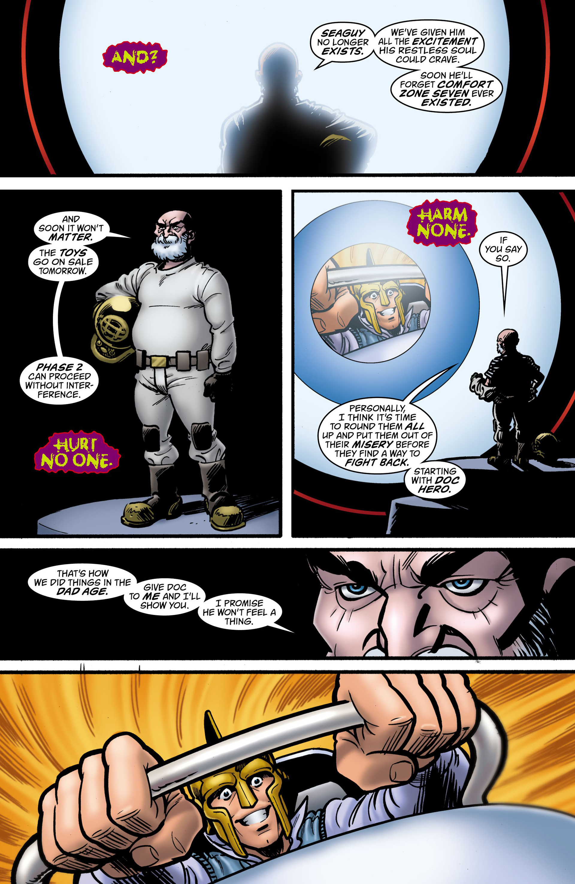 Read online Seaguy: The Slaves of Mickey Eye comic -  Issue #2 - 11